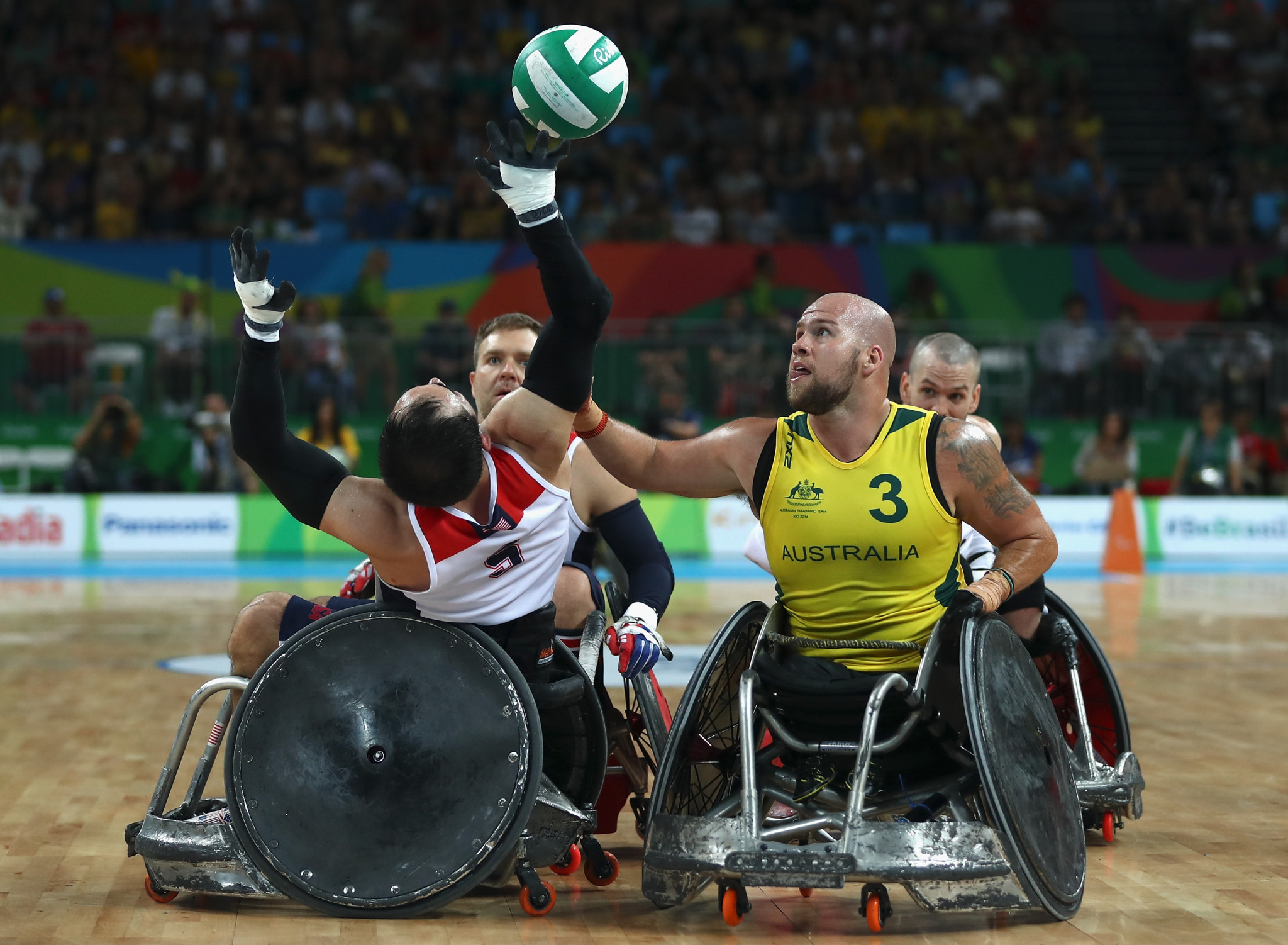 Ryley Batt earned his second Paralympic gold medal at Rio 2016 ©Getty Images