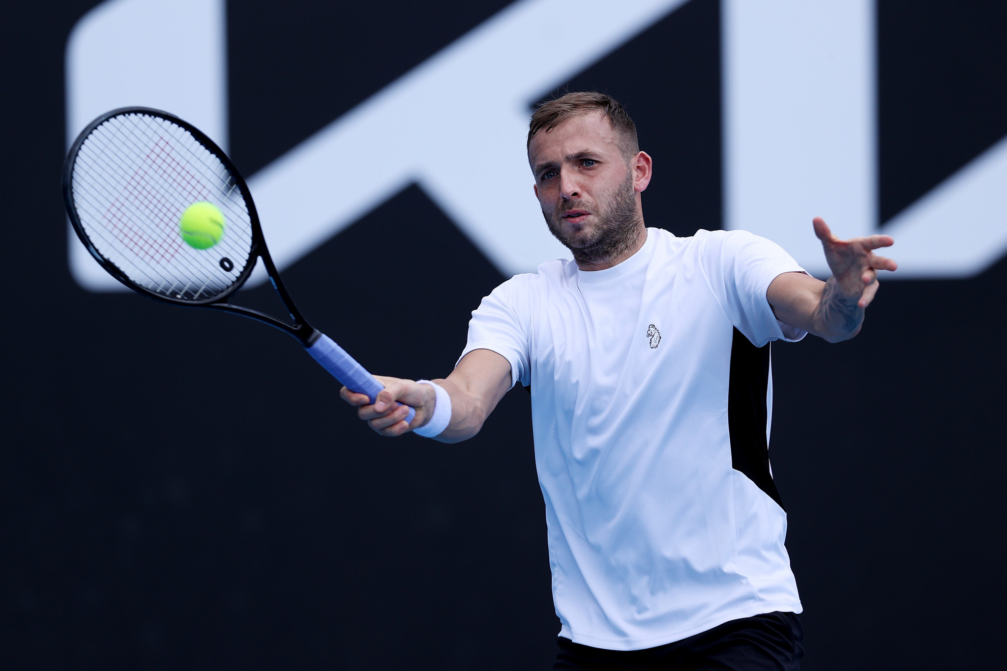 Dan Evans believes COVID-19 restrictions at the National Tennis Centre had