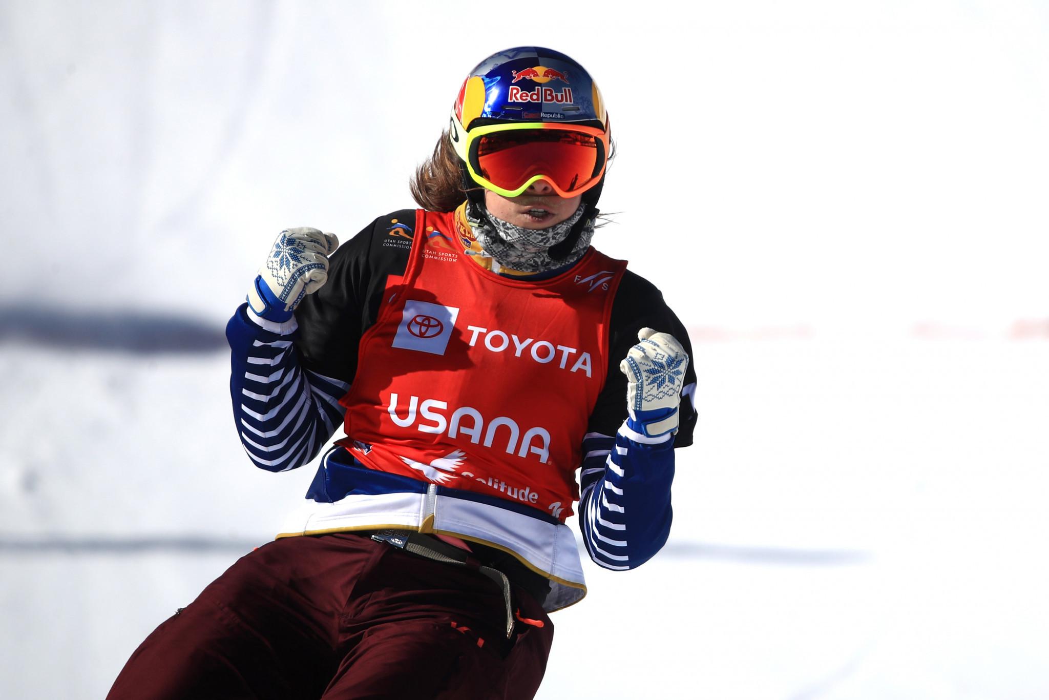 Samková and Dierdorff to defend snowboard cross world titles in Idre Fjäll