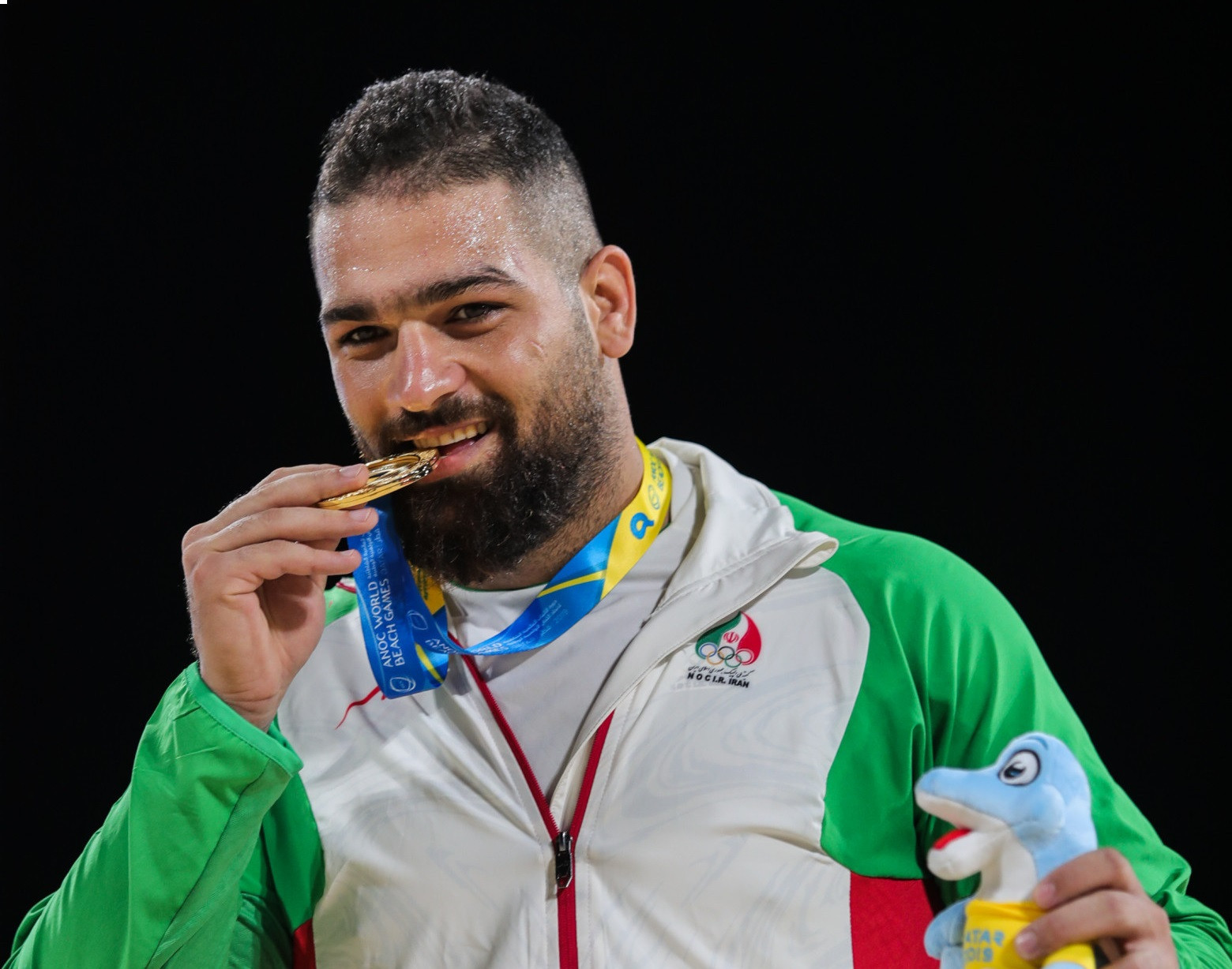 Pouya Rahmani of Iran will reportedly be stripped of his World Beach Games gold medal ©ANOC World Beach Games