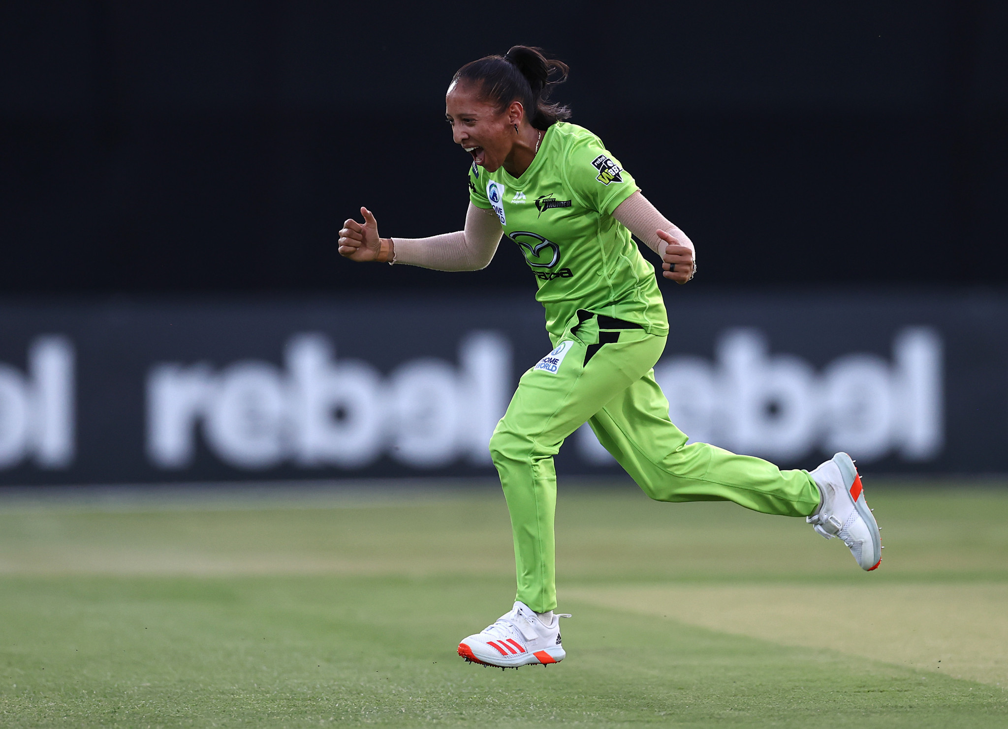 Shabnim Ismail has been voted as the ICC Women's Player of the Month ©Getty Images