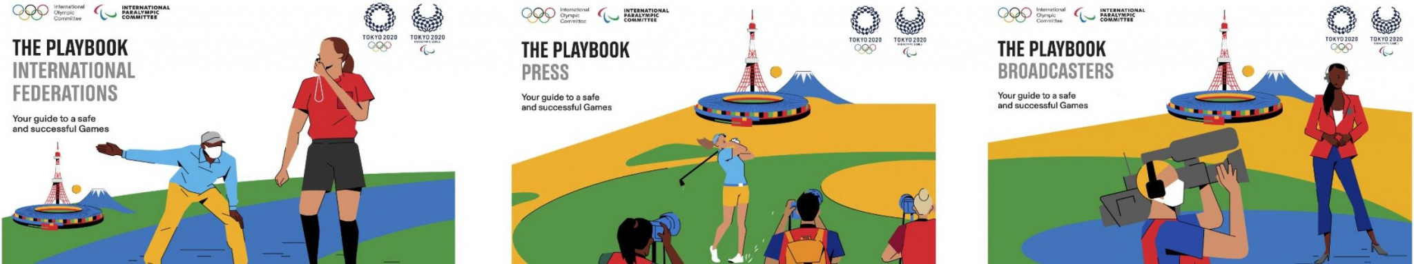 Details of the Tokyo 2020 playbooks released earlier this month were discussed at today's virtual media briefing co-hosted by Lausanne and Tokyo ©Tokyo 2020