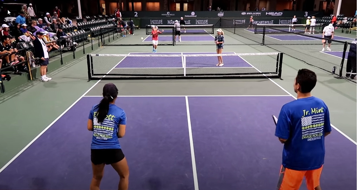 Pickleball is growing among young people due to the COVID-19 pandemic ©USA Pickleball