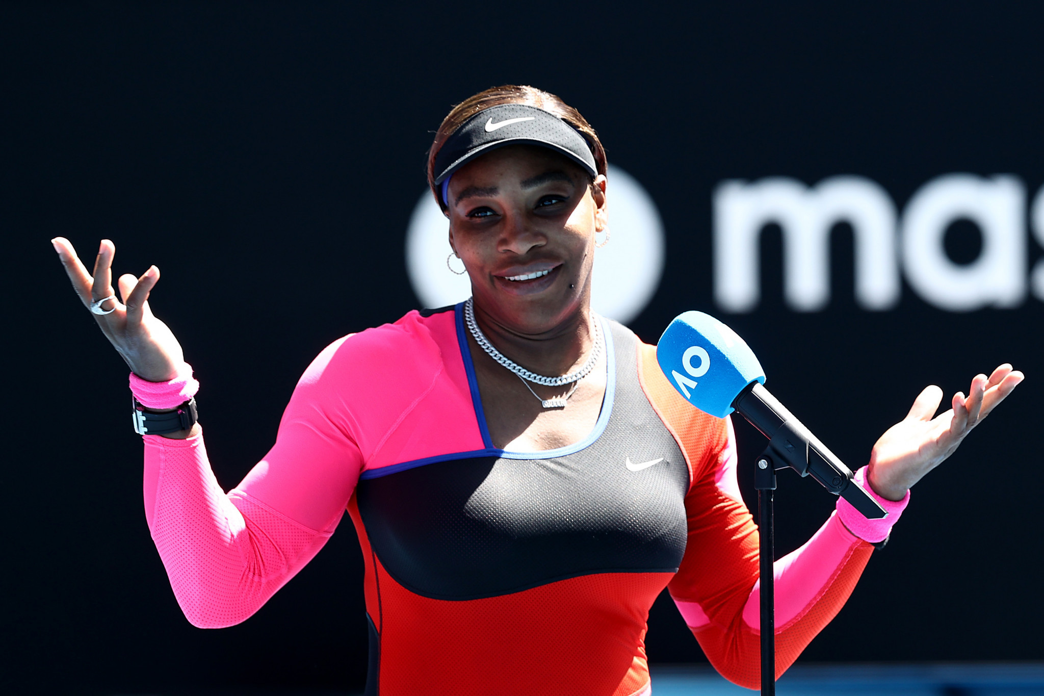 American great Serena Williams admits it will be