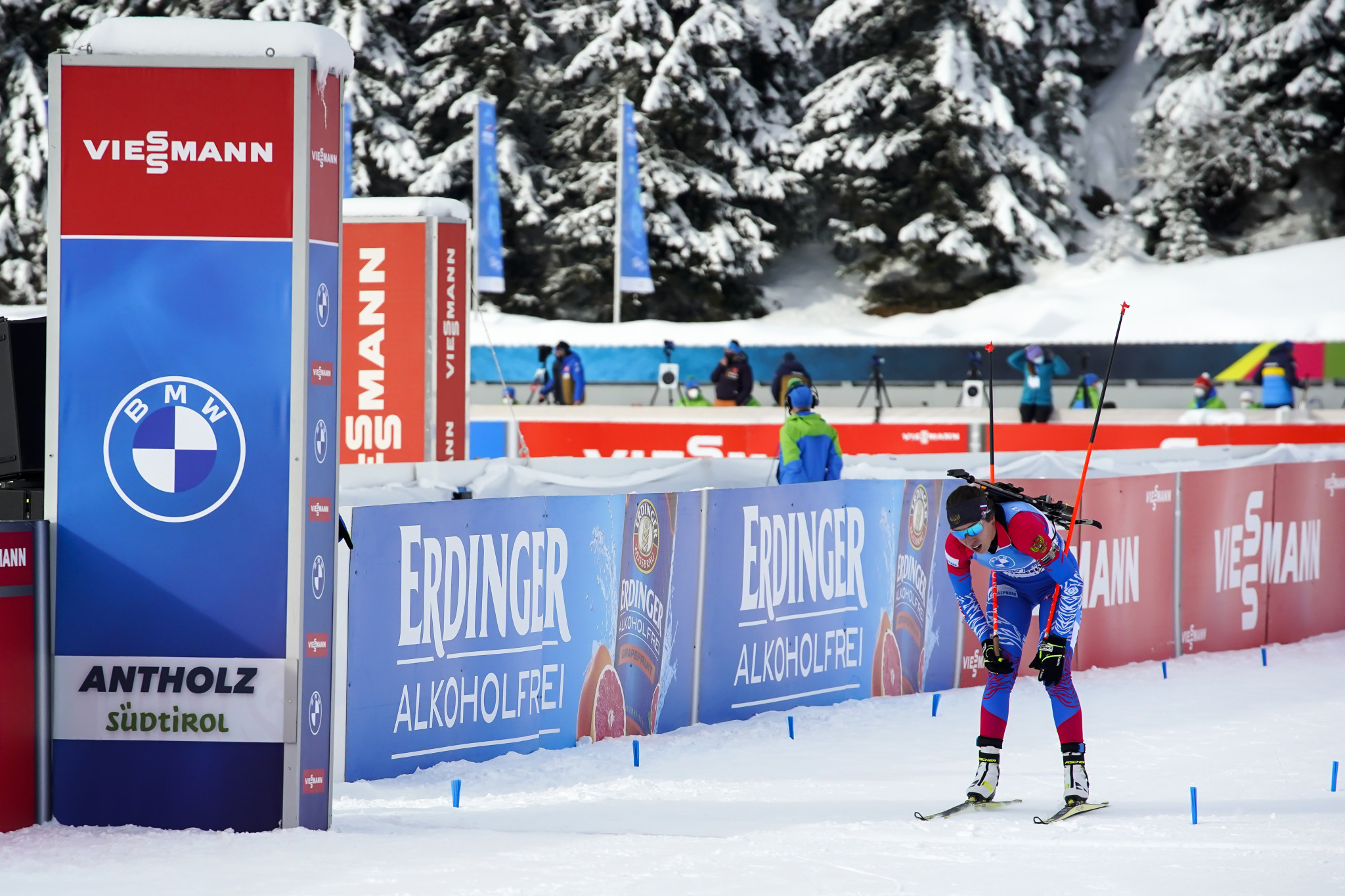 The Biathlon World Championships are ongoing in Pokljuka ©Getty Images