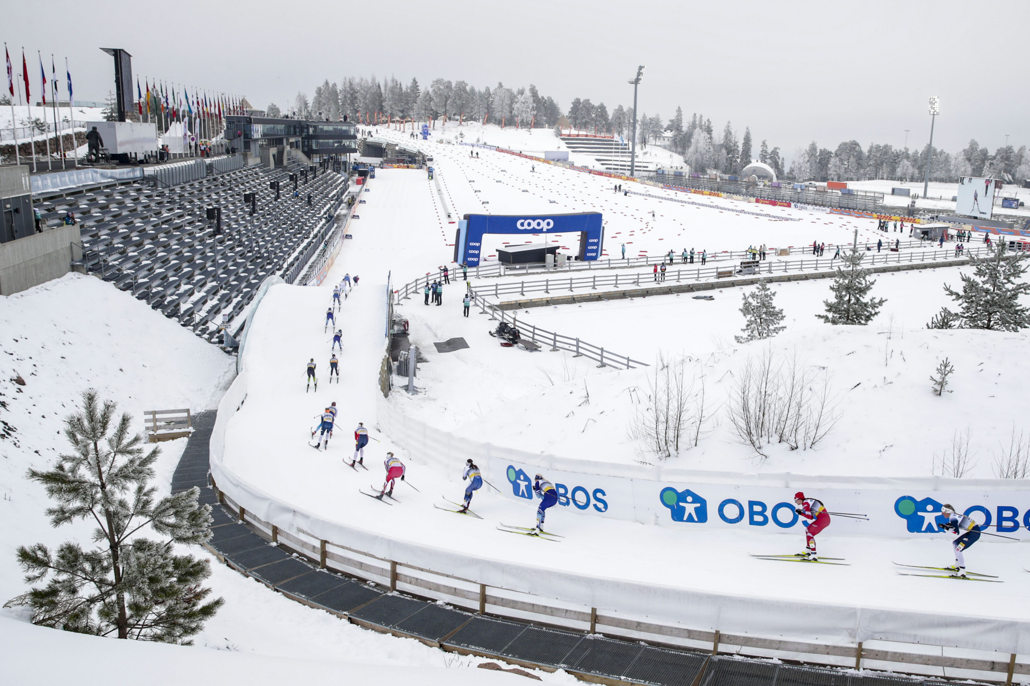 Oslo Holmenkollen is one of the venues that will be unable to host events next month ©Getty Images