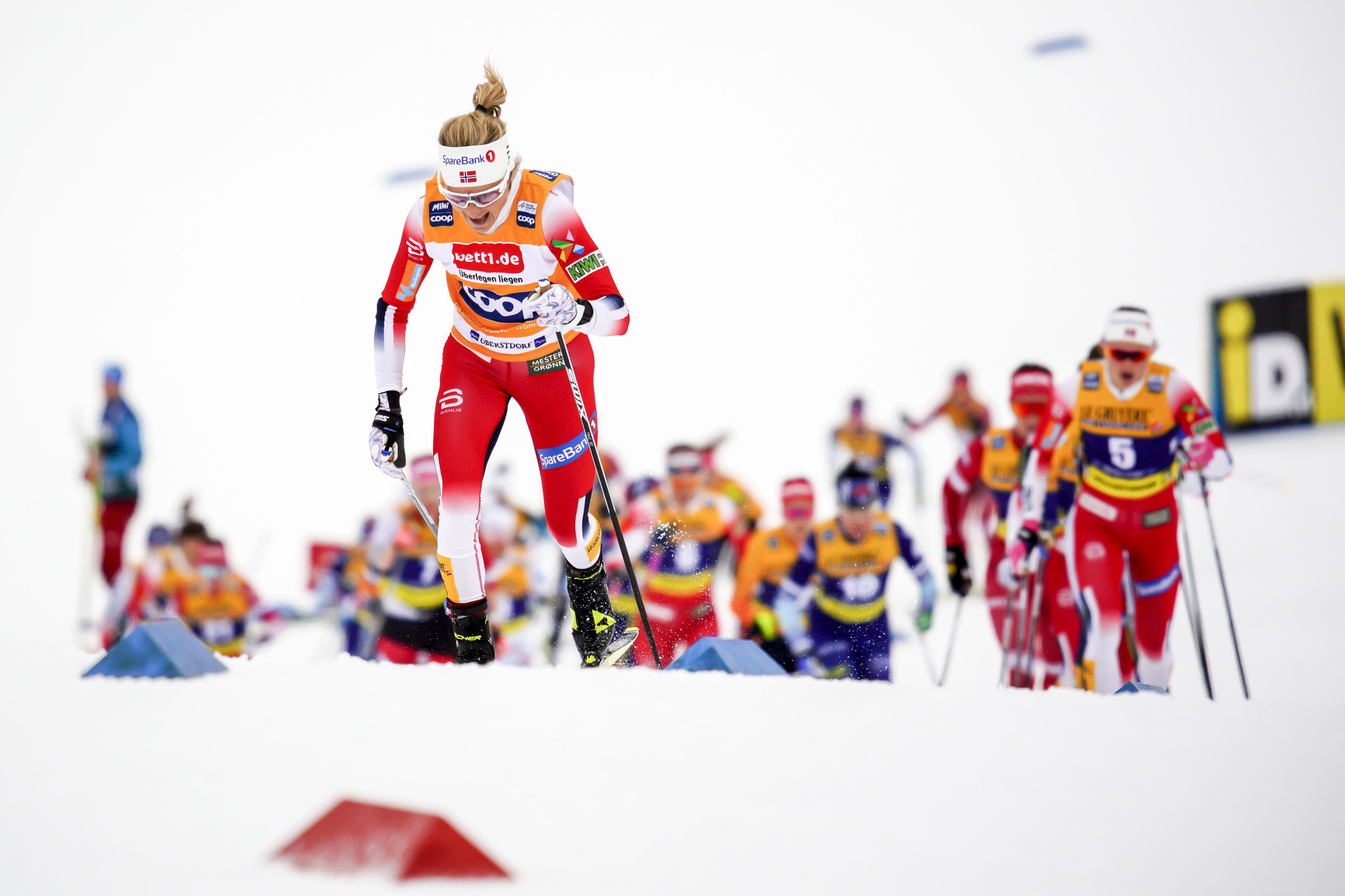 Therese Johaug is one of Norway's leading cross-country athletes but will be denied the chance to compete on home snow this season due to the coronavirus pandemic ©Getty Images