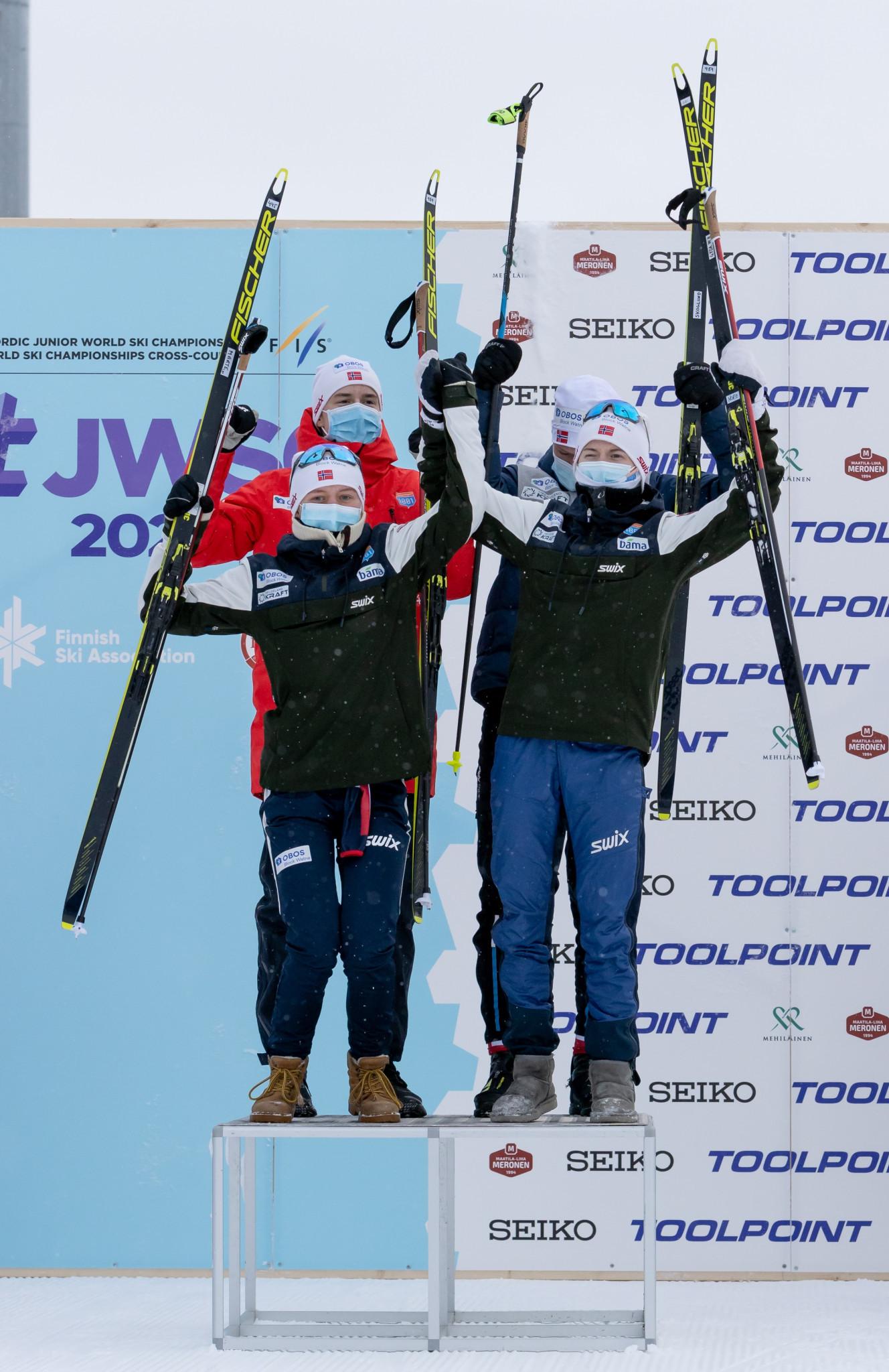 Norway retains mixed team title at Nordic Junior World Ski Championships