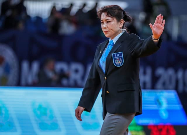Akiko Amano will be one of the referees at the Tokyo 2020 Olympics ©IJF