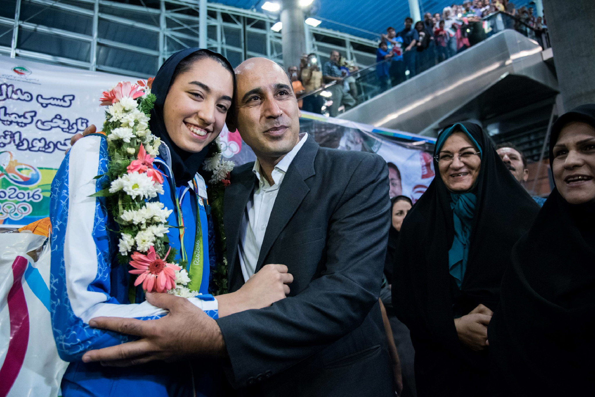 Kimia Alizadeh was just 18 years old when she won an Olympic bronze medal at Rio 2016 ©Getty Images