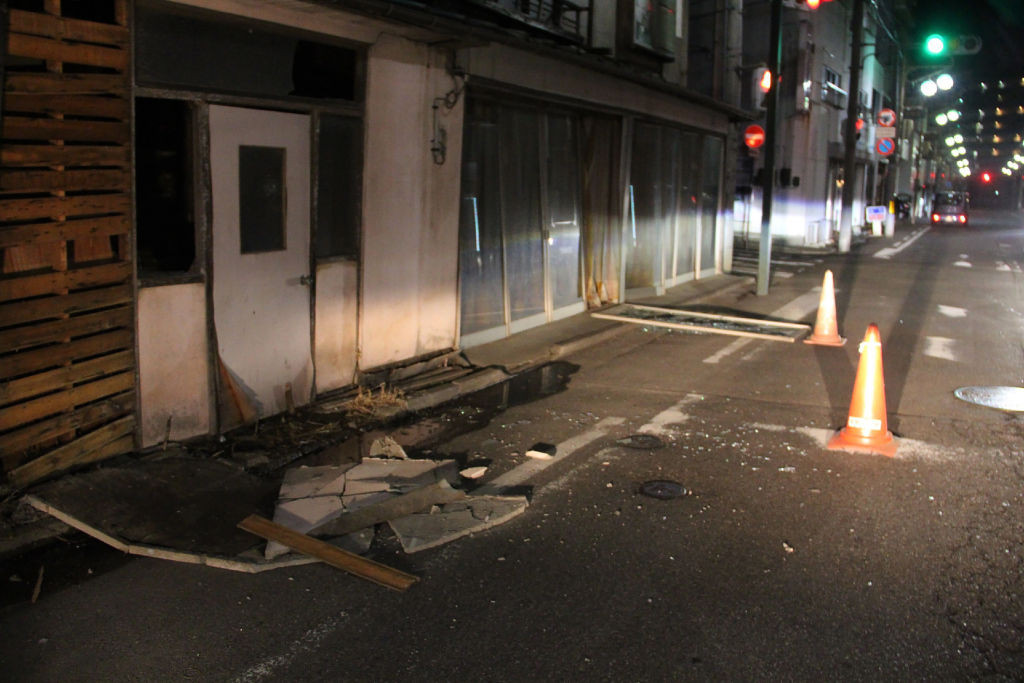 Strong earthquake hits off Fukushima in Japan