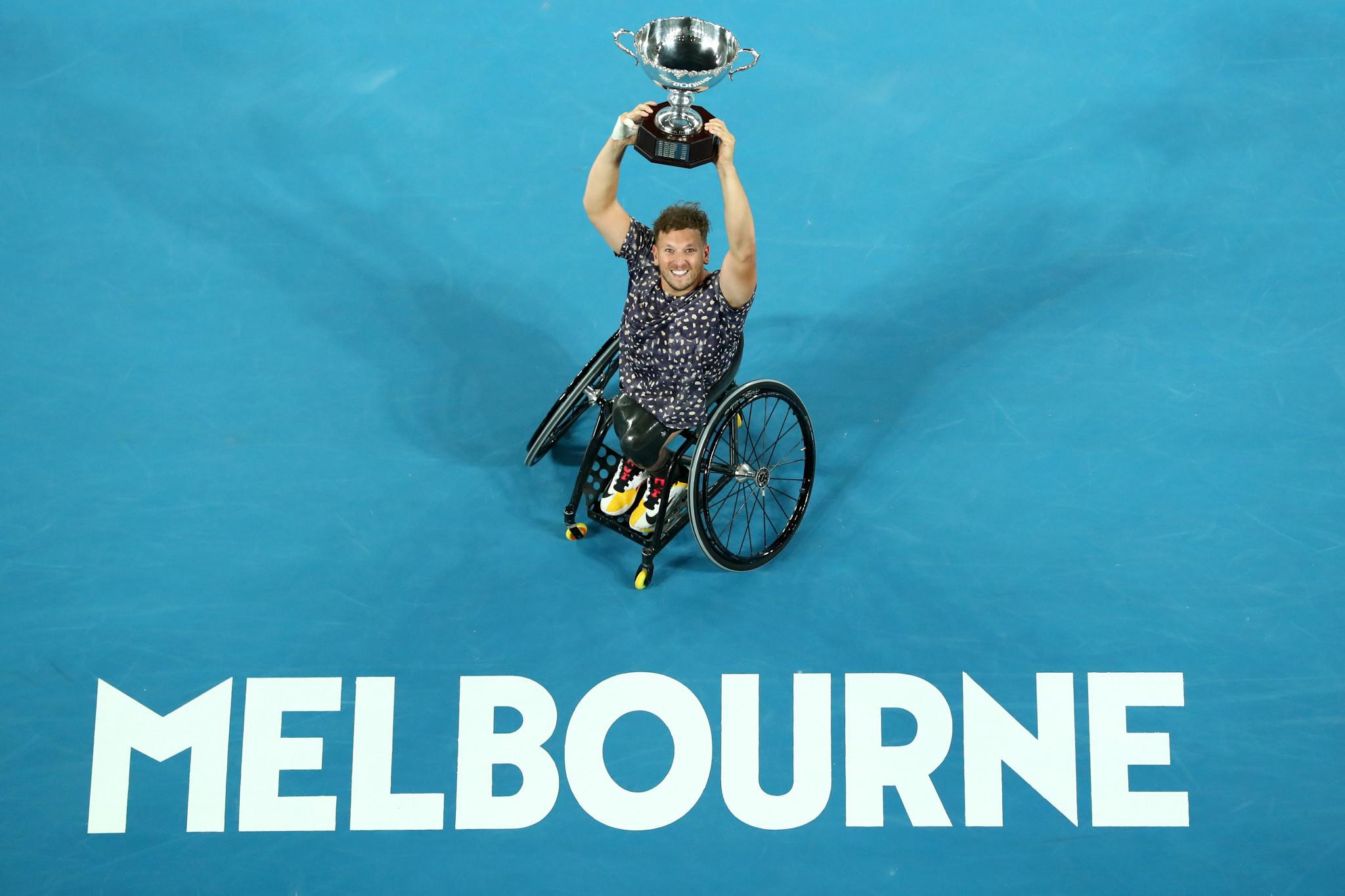Alcott to begin quest for seventh Australian Open quad singles title in a row versus Davidson