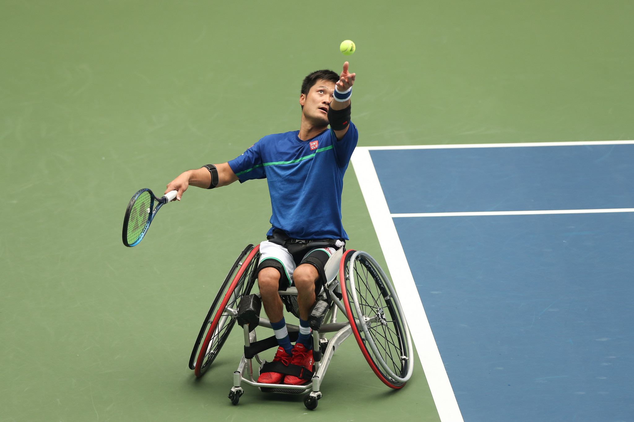 Shingo Kunieda is seeking a 25th Grand Slam singles title, and an 11th at the Australian Open  ©Getty Images