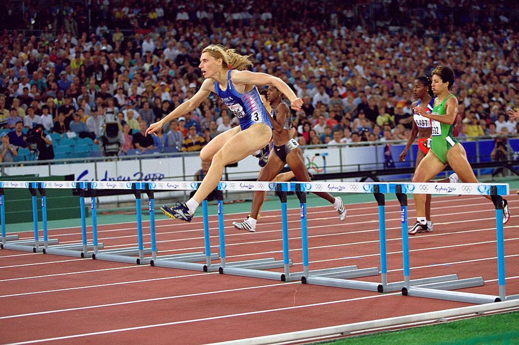 Sydney 2000 Olympic gold medallist Irina Privalova has taken charge of the RusAF ©Getty Images
