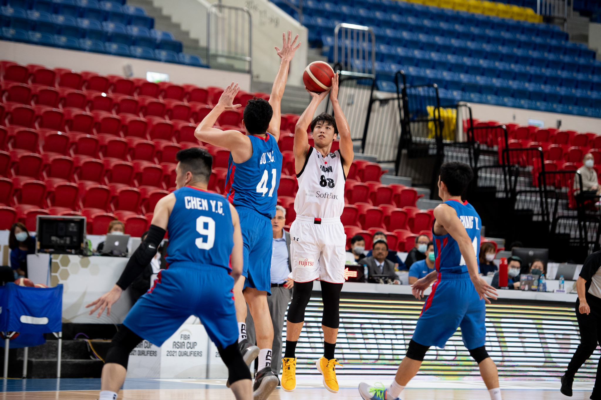 FIBA Asia Cup qualifying matches in Doha have been postponed due to COVID-19 restrictions ©Getty Images