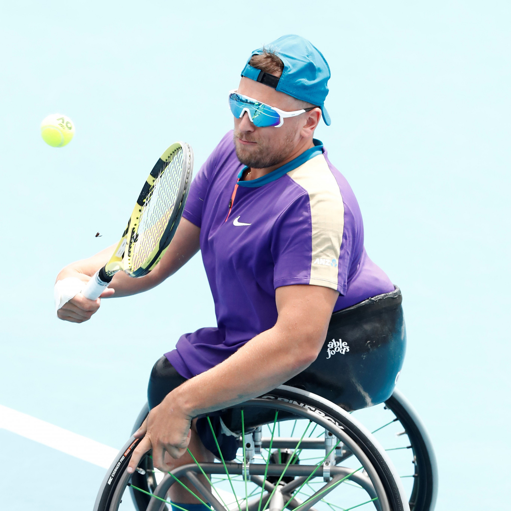 Defending champions through as Australian Open wheelchair tournaments begin