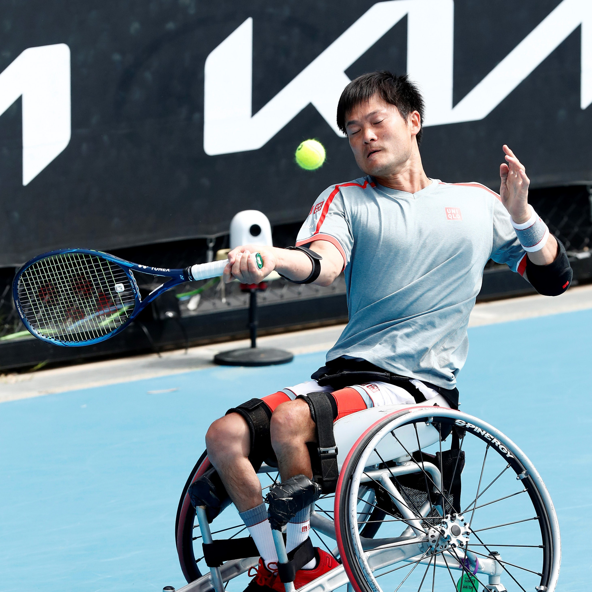 Shingo Kunieda lost only one game en route to the semi-finals ©Getty Images