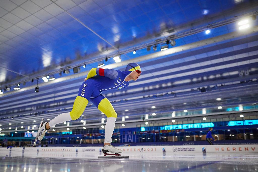 Van Der Poel sets world record on his way to men's 10,000m gold at World Speed Skating Championships