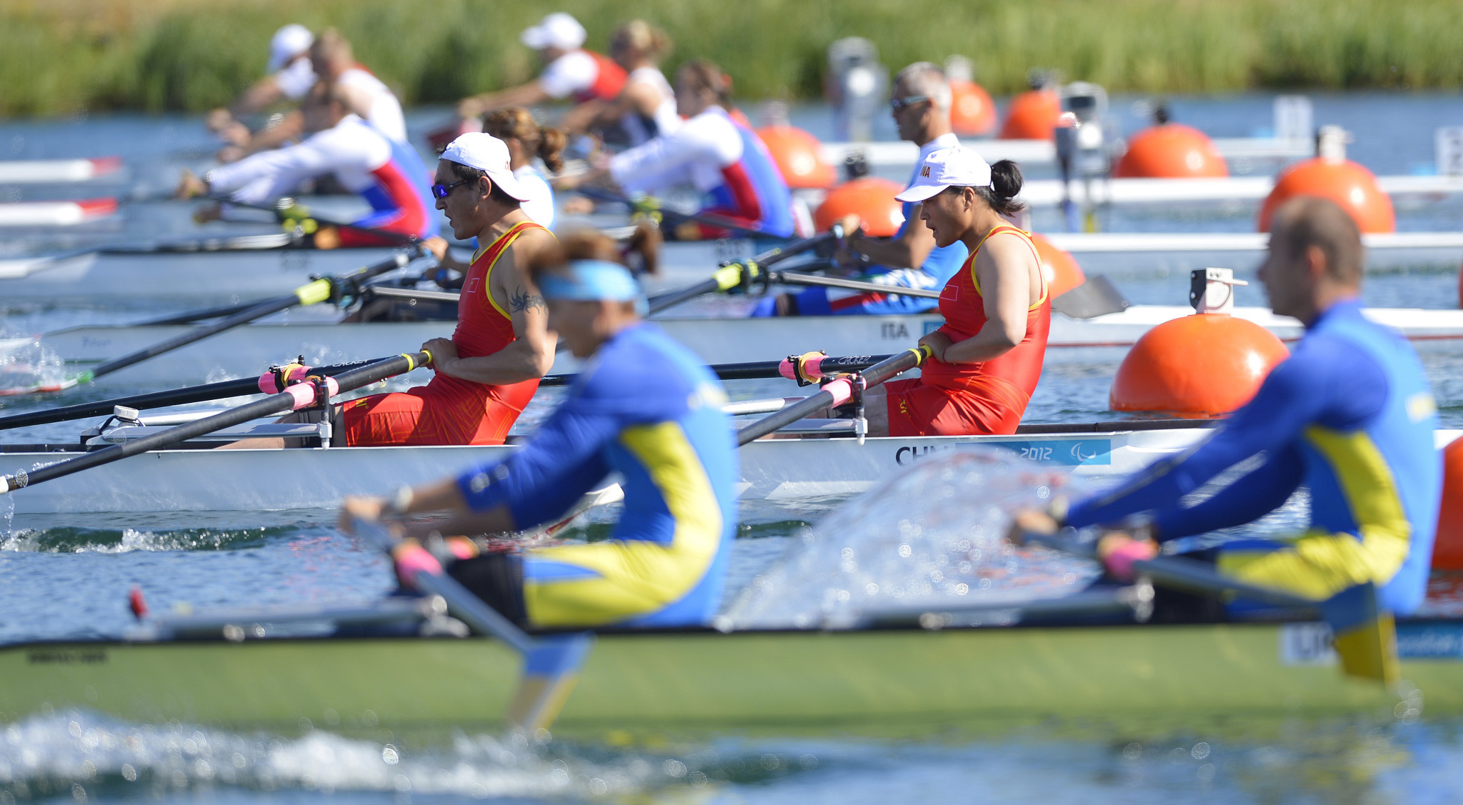 The rowing qualification process for the Tokyo 2020 Paralympics has been badly disrupted ©Getty Images