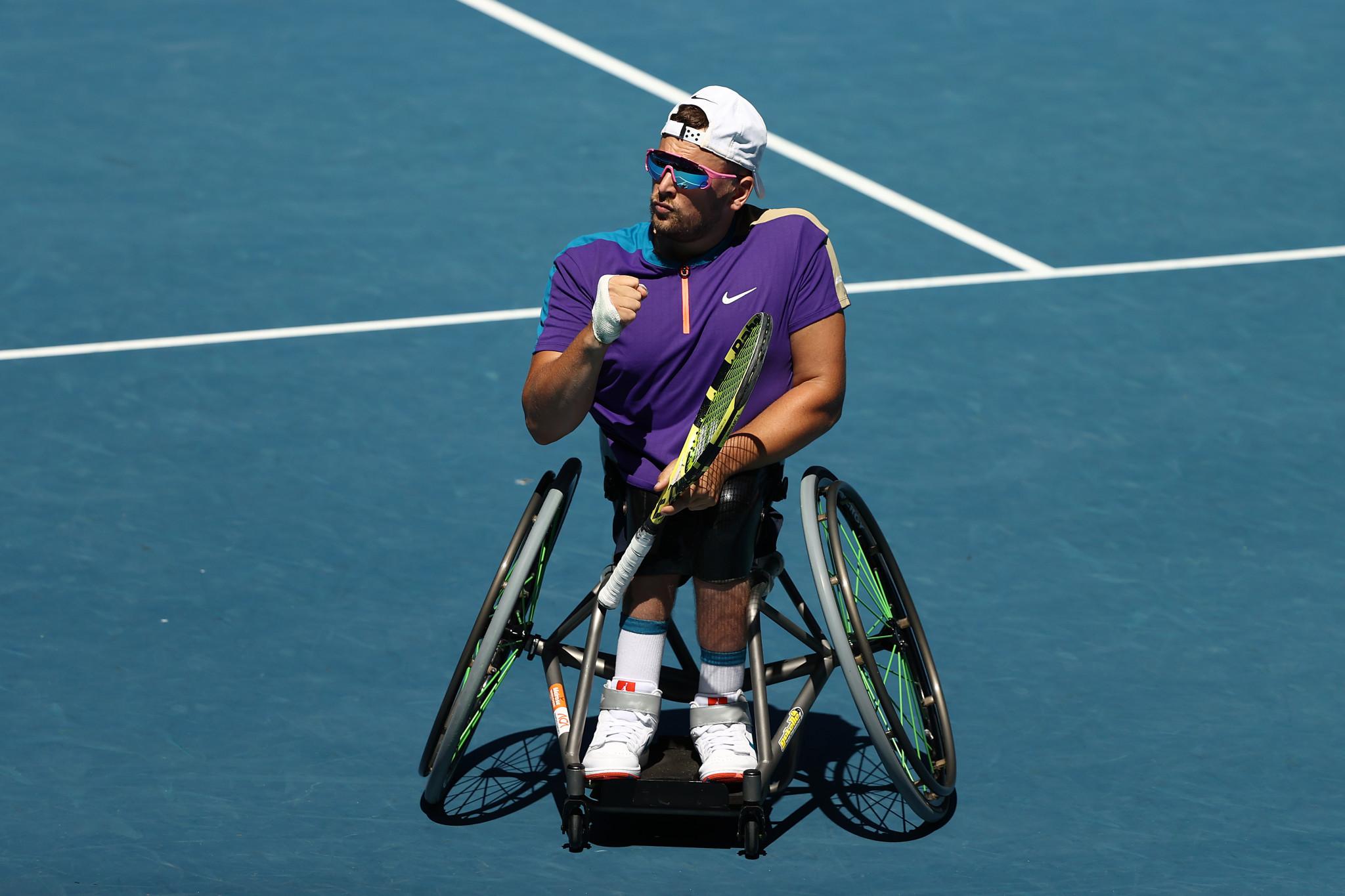 Dylan Alcott is seeking a seventh Australian Open title in a row ©Getty Images