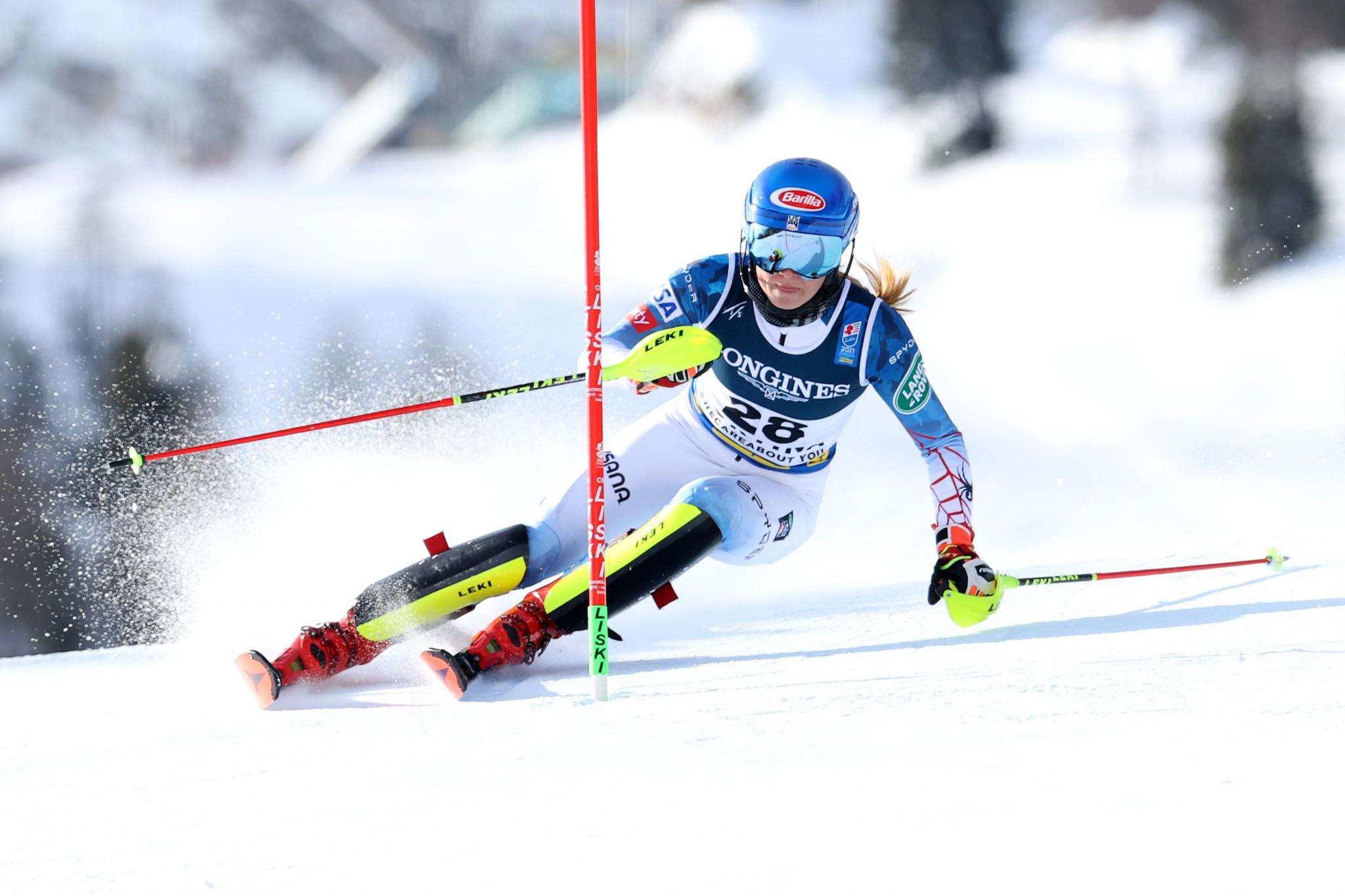 Shiffrin earns record-breaking sixth title at FIS Alpine Ski World Championships