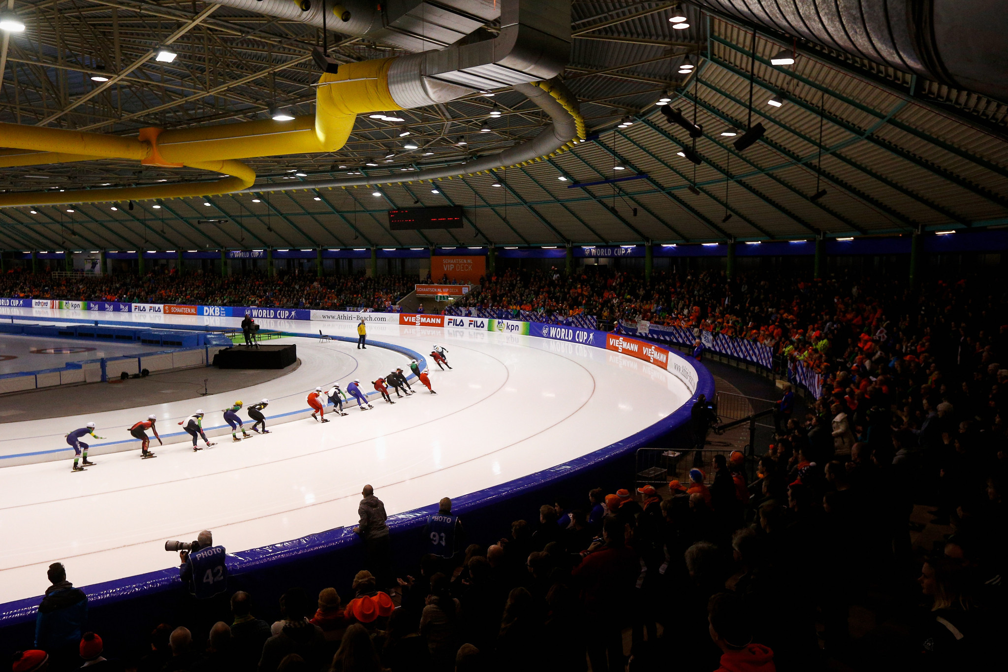 The ISU is welcoming applications to host Championships between 2023 and 2026 - with a total of 36 competitions up for grabs ©Getty Images