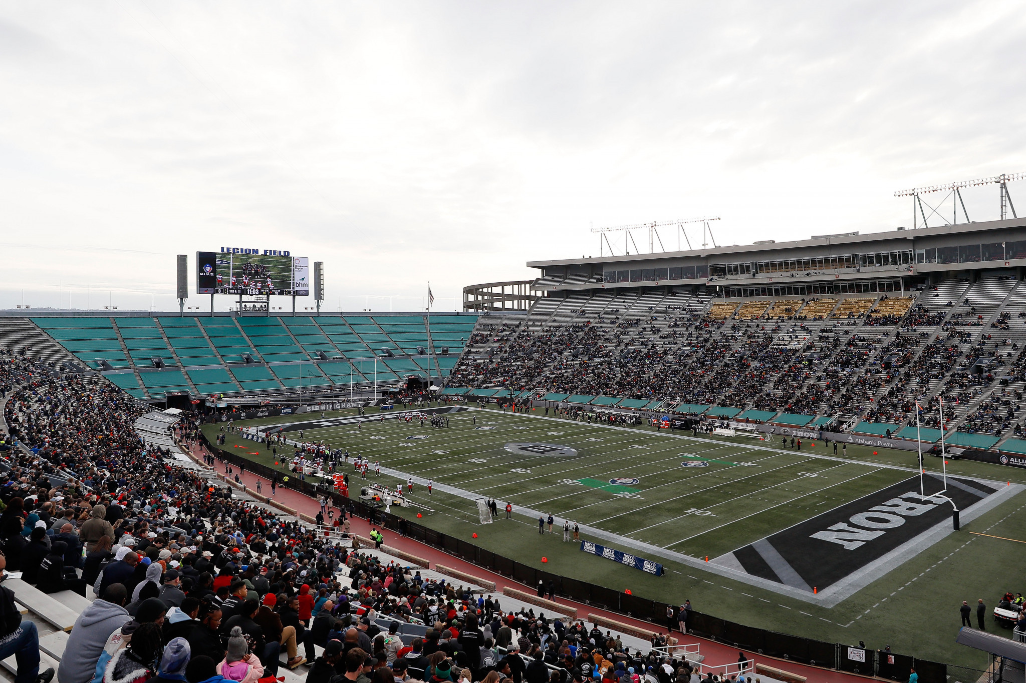 Legion Field is the flag football venue for the 2022 World Games ©Getty Images