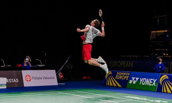 Defending champions Denmark record whitewash win on opening day of European Mixed Team Badminton Championship