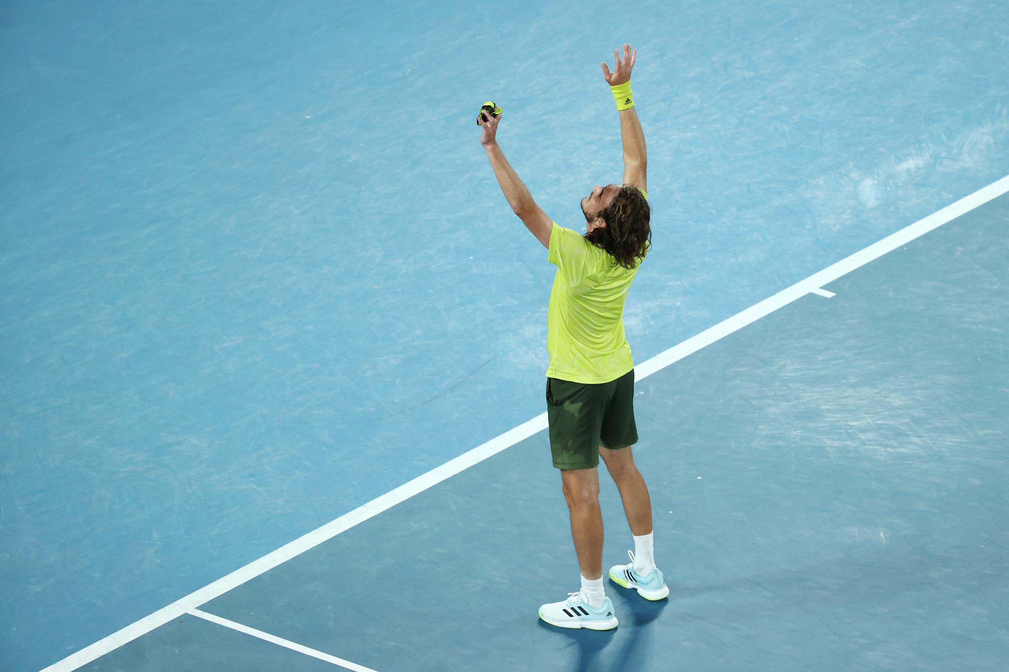Tsitsipas stars on second day of quarter-finals at Australian Open