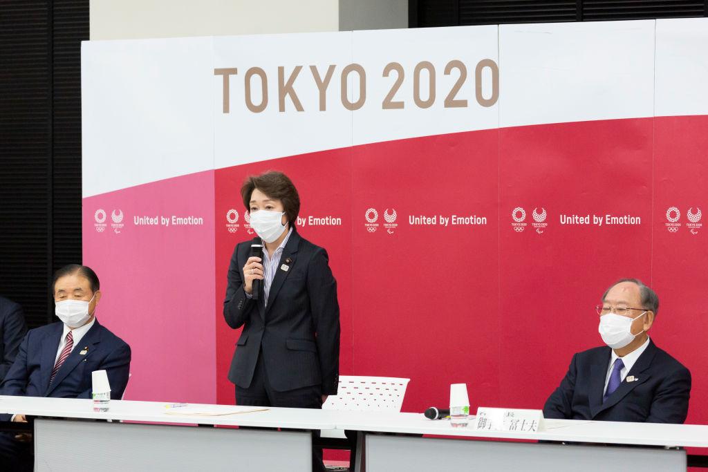 Seiko Hashimoto was confirmed as Yoshirō Mori's successor during a Tokyo 2020 Executive Board meeting ©Getty Images