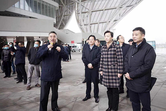 Vice-governor tours Hangzhou 2022 venues to assess Asian Games progress