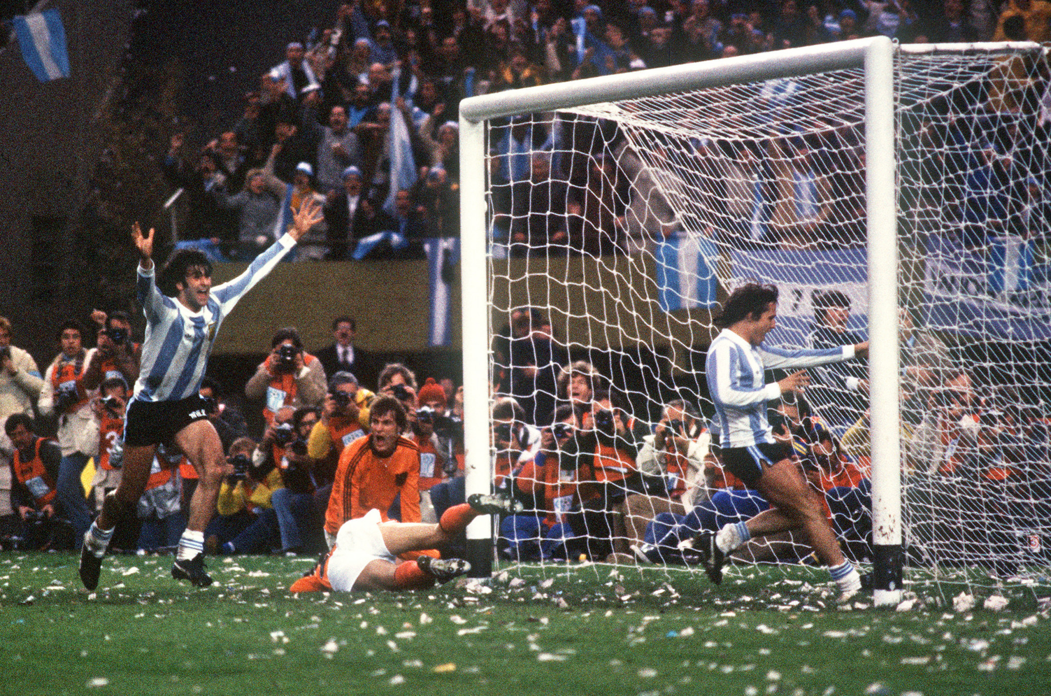 Argentina's 1978 World Cup triumph was the country's first ©Getty Images