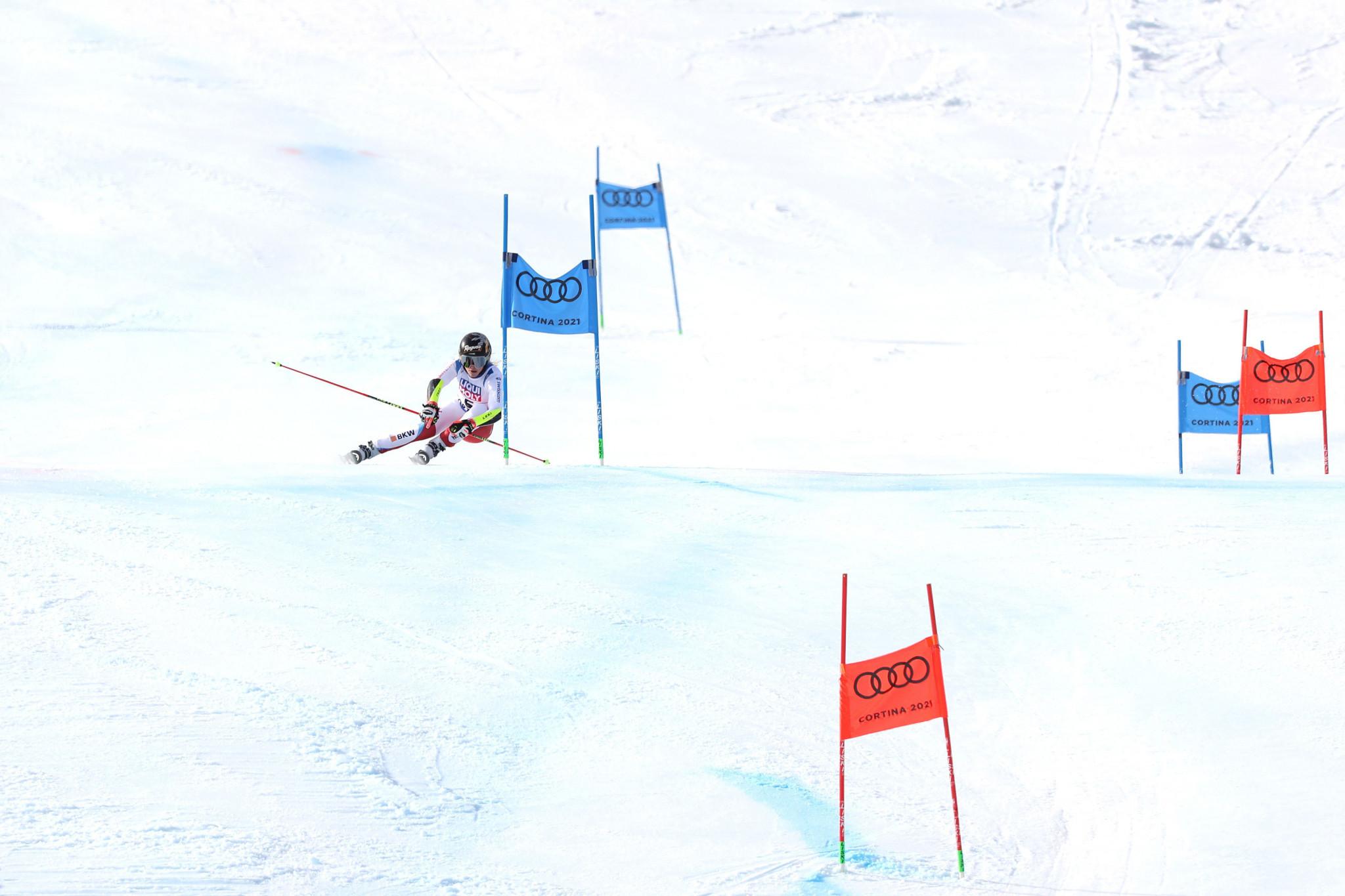 Gut-Behrami edges Shiffrin to win giant slalom at FIS Alpine World Ski Championships
