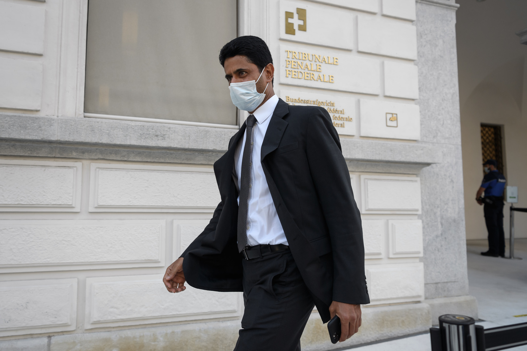 Lawyers for Nasser Al-Khelaifi have described the appeal as desperate ©Getty Images