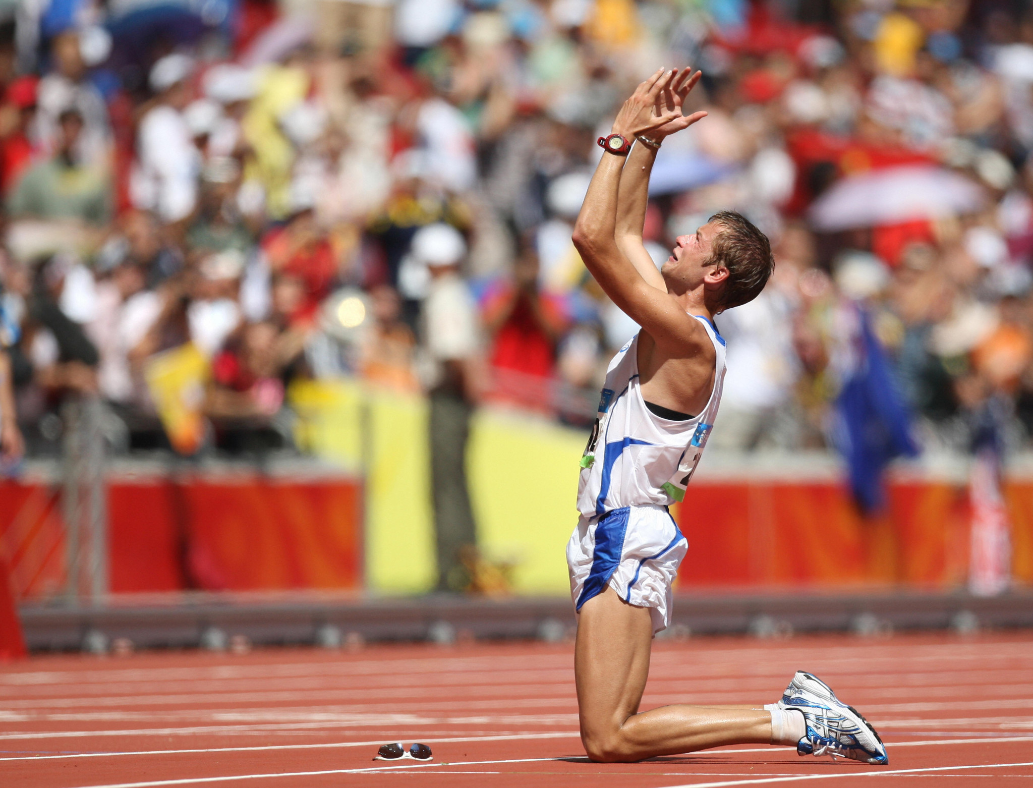 Alex Schwazer won the men's 50km title at Beijing 2008, but has missed the two Olympics since through drug bans ©Getty Images