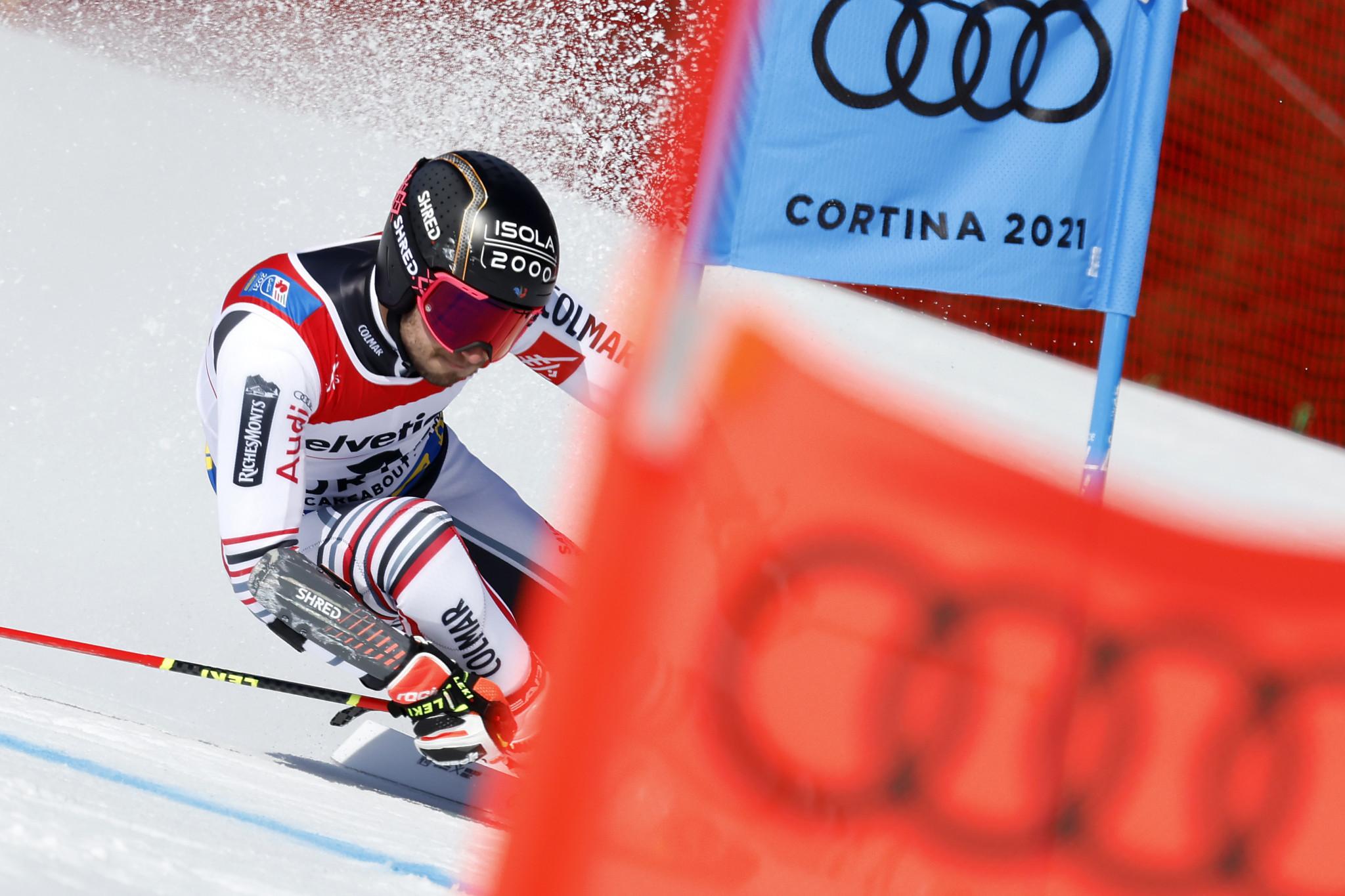 Faivre wins giant slalom title as Pinturault falters at Alpine Ski World Championships