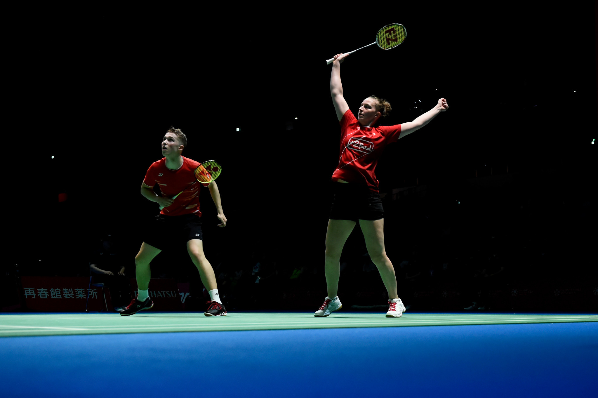 France and Denmark claim wins in deciding matches at European Mixed Team Badminton Championships