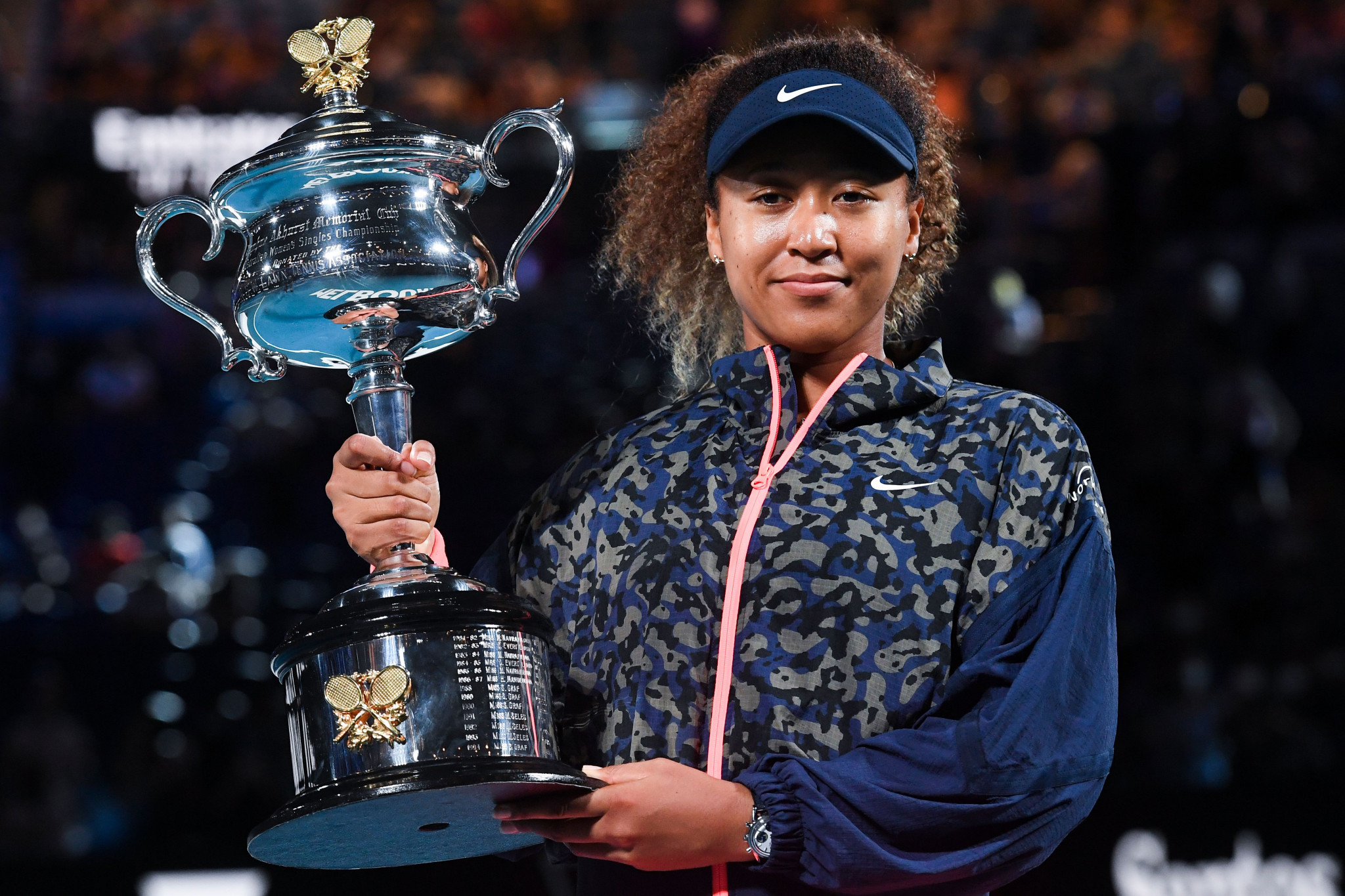 Naomi Osaka secured her second Australian Open title ©Getty Images