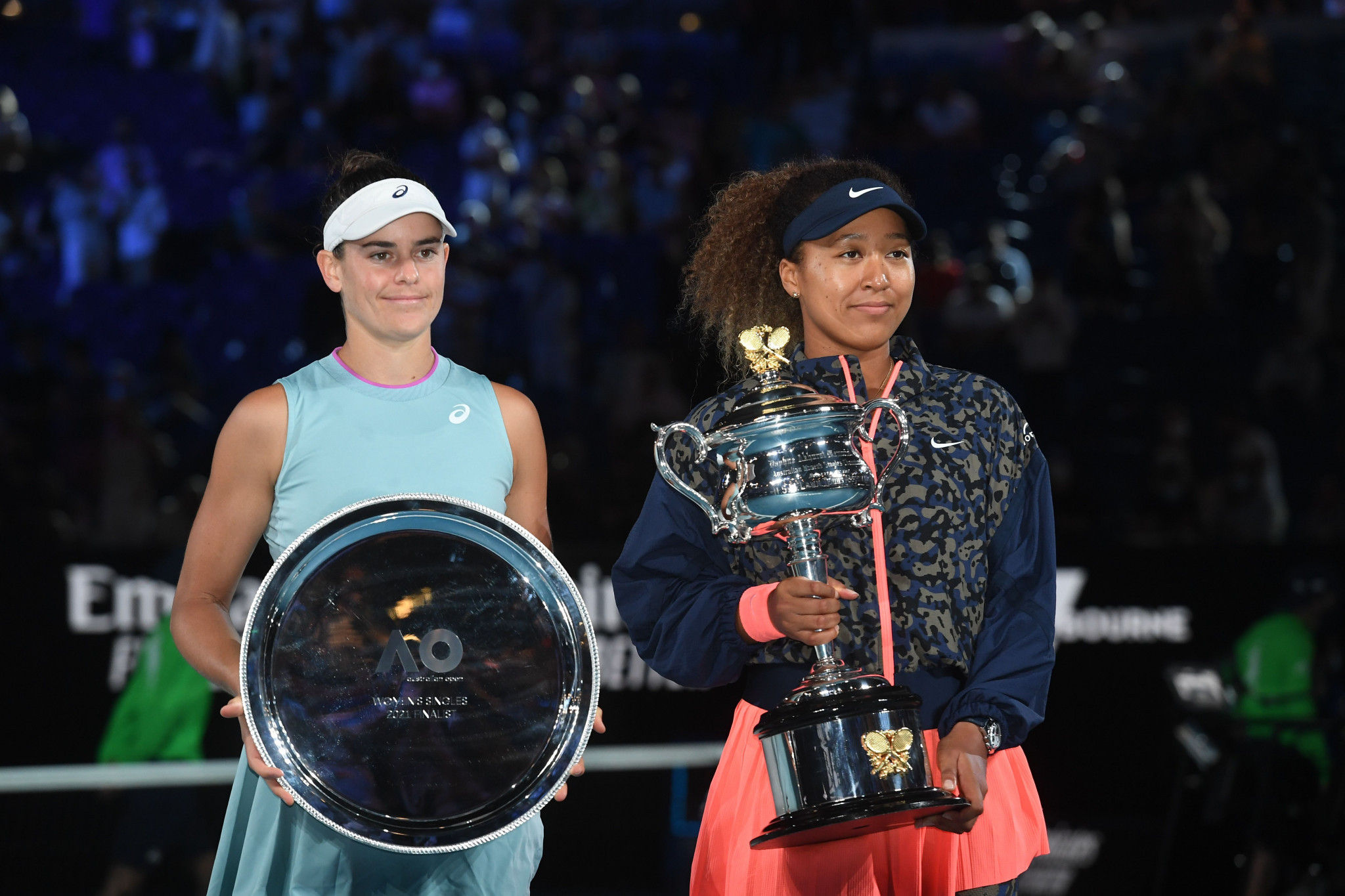 Naomi Osaka is the first women's player to win her first four Grand Slam finals since Monica Seles ©Getty Images