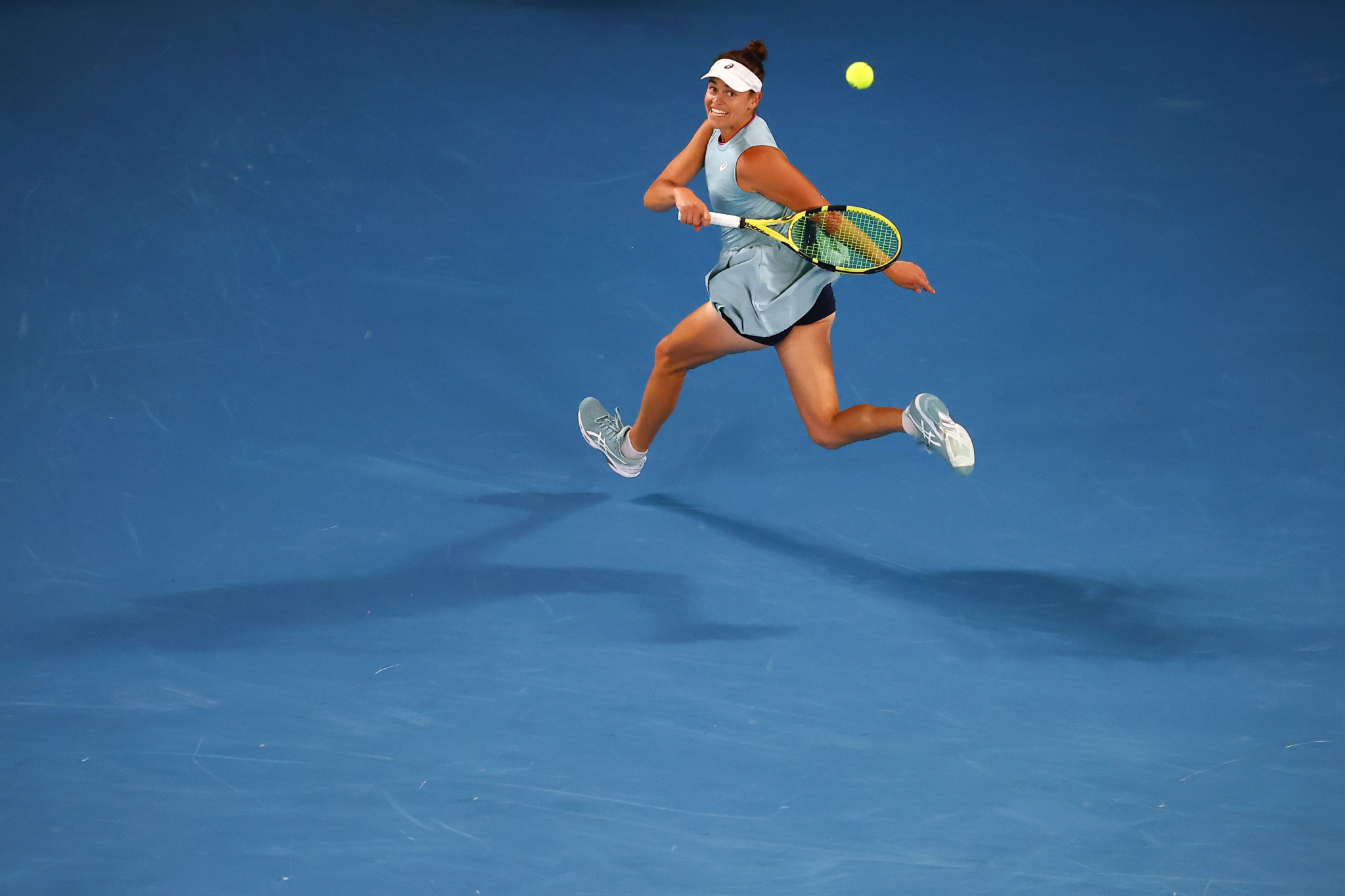 United States Jennifer Brady was appearing in her first Grand Slam final ©Getty Images
