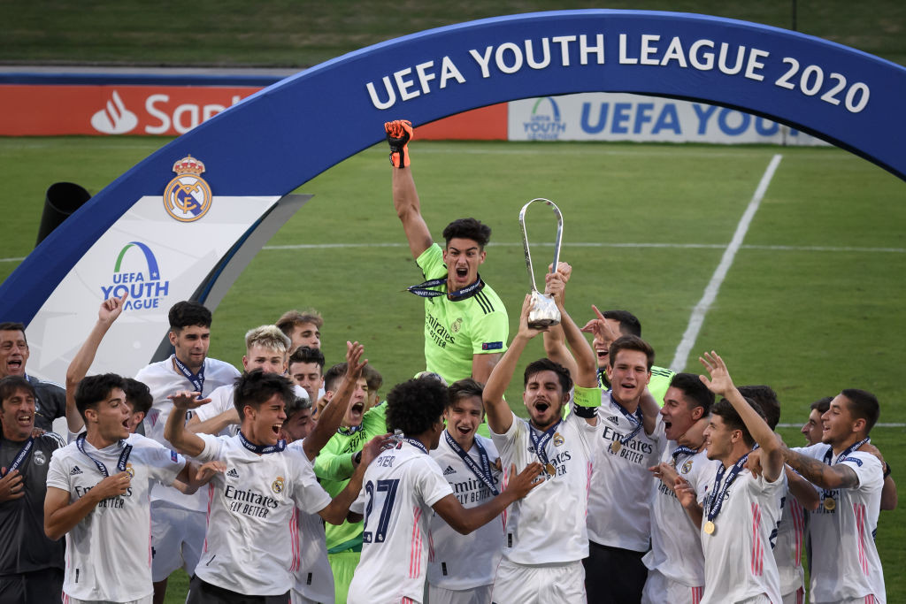 The 2020-2021 UEFA Youth League has been cancelled because of the coronavirus pandemic ©Getty Images