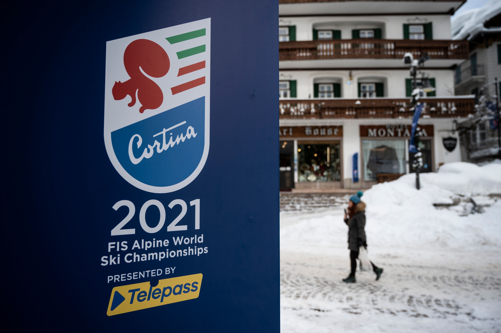 Courchevel-Méribel 2023 organisers are ready to be in the spotlight after the conclusion of Cortina d'Ampezzo 2021 ©Getty Images