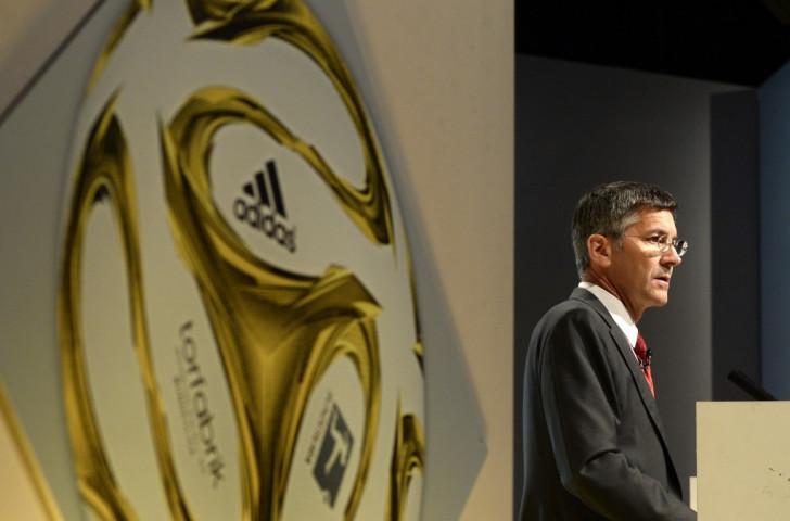 Herbert Hainer has headed Adidas since 2001