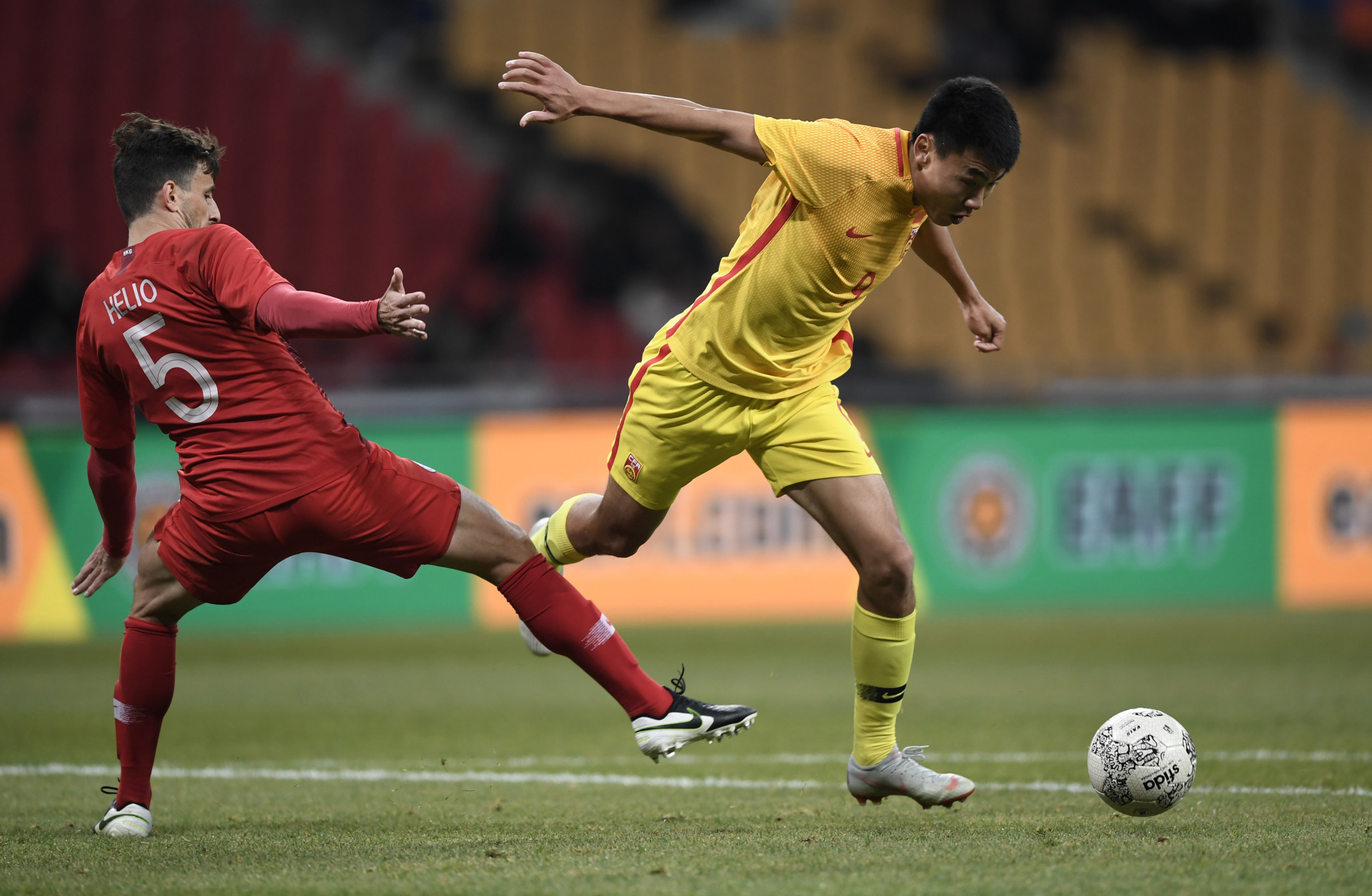 China's clash against the Maldives is among a number of matches that have been postponed due to COVID-19 restrictions ©Getty Images