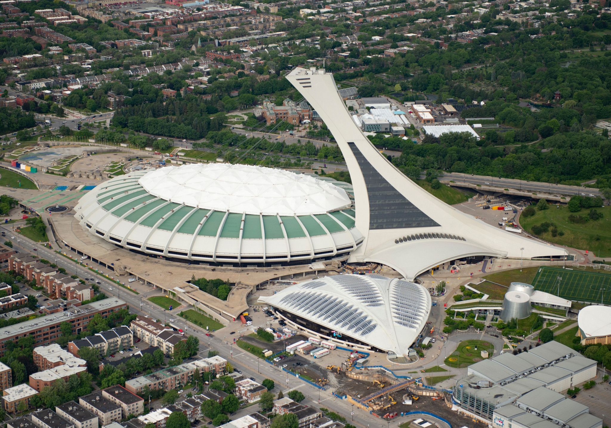 The Olympic Stadium in Montreal will become a mass vaccination centre ©Getty Images