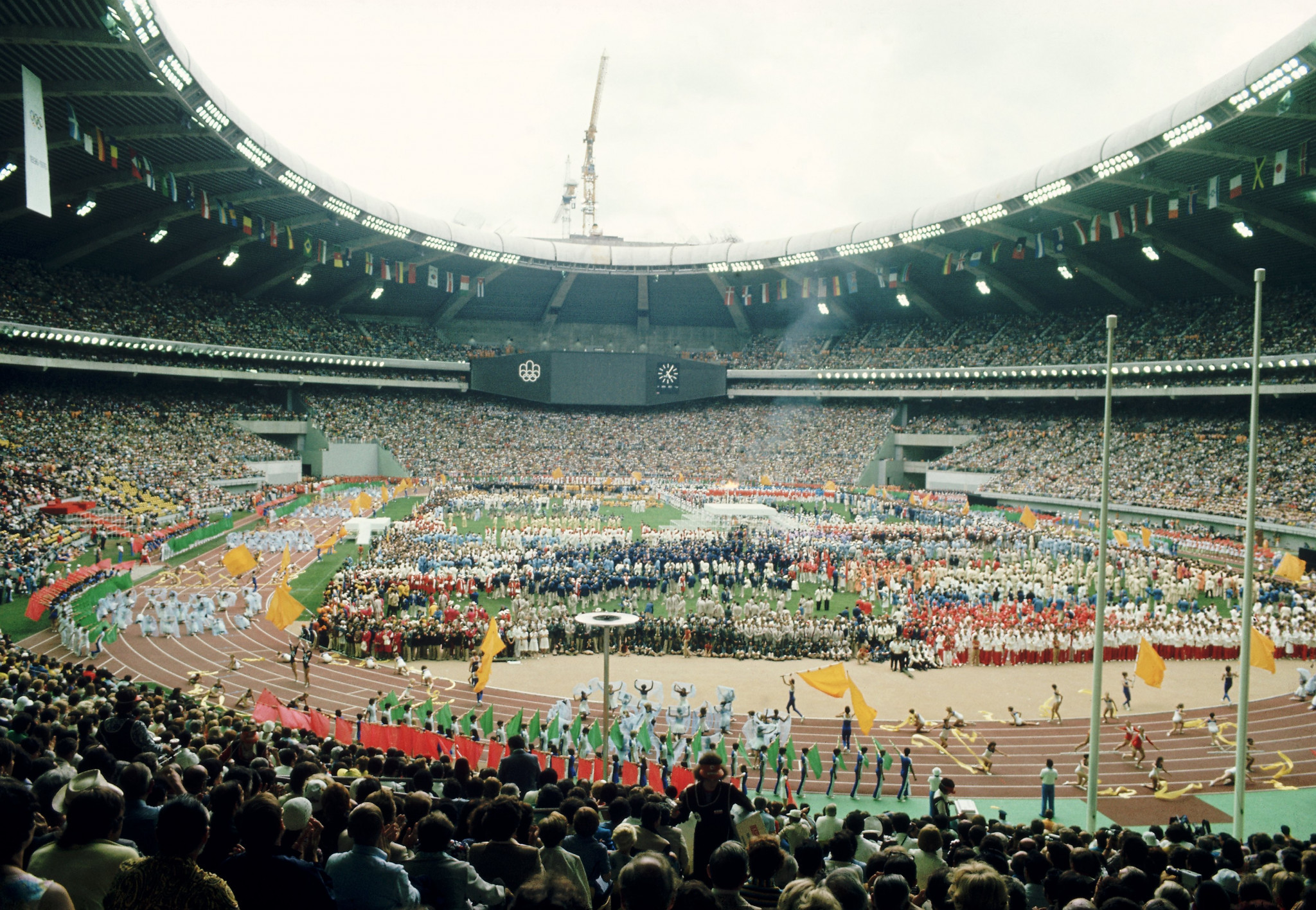 The venue hosted the Opening and Closing Ceremonies during the Montreal 1976 Olympic Games ©Getty Images
