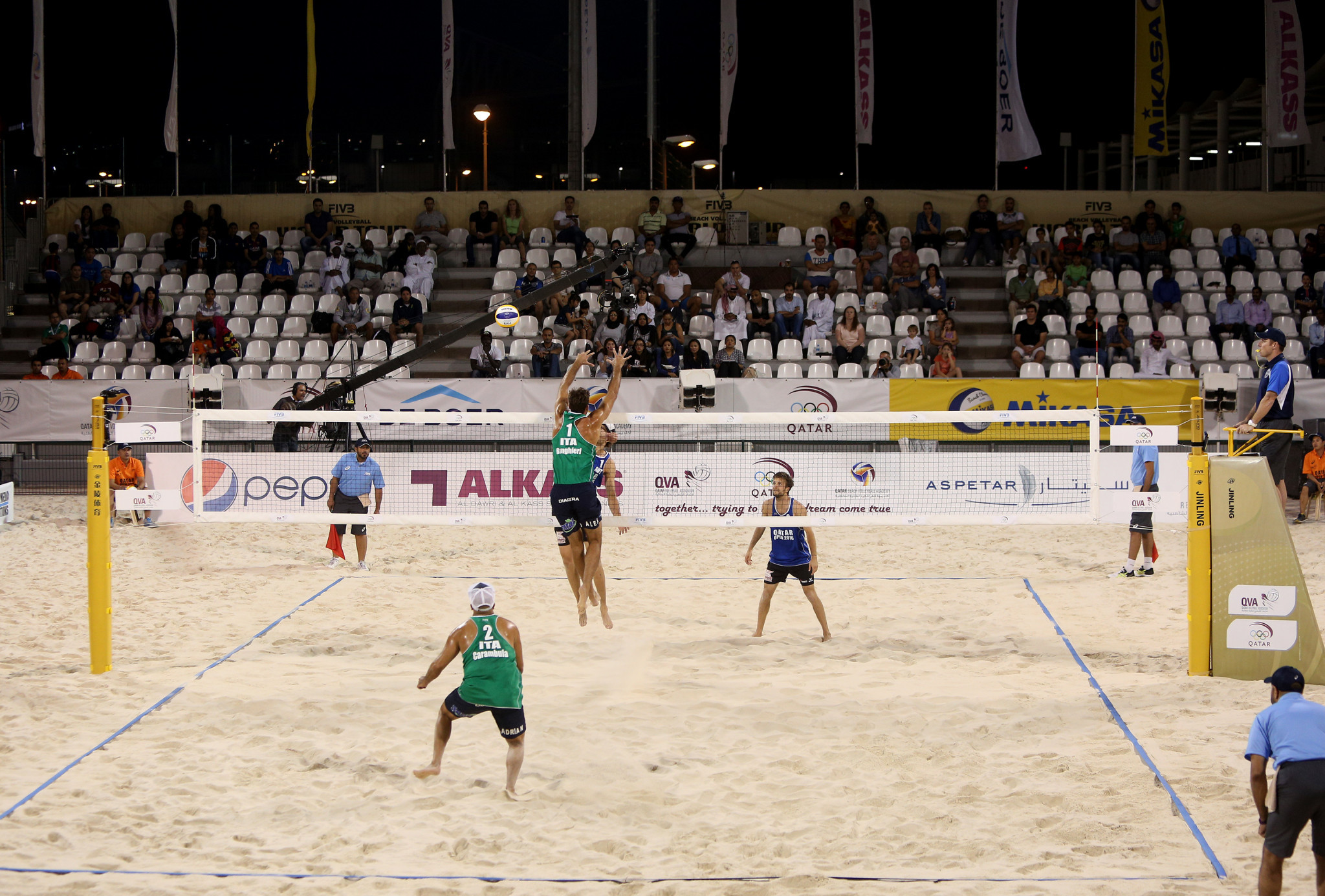 First FIVB Beach World Tour event of 2021 to begin in Doha