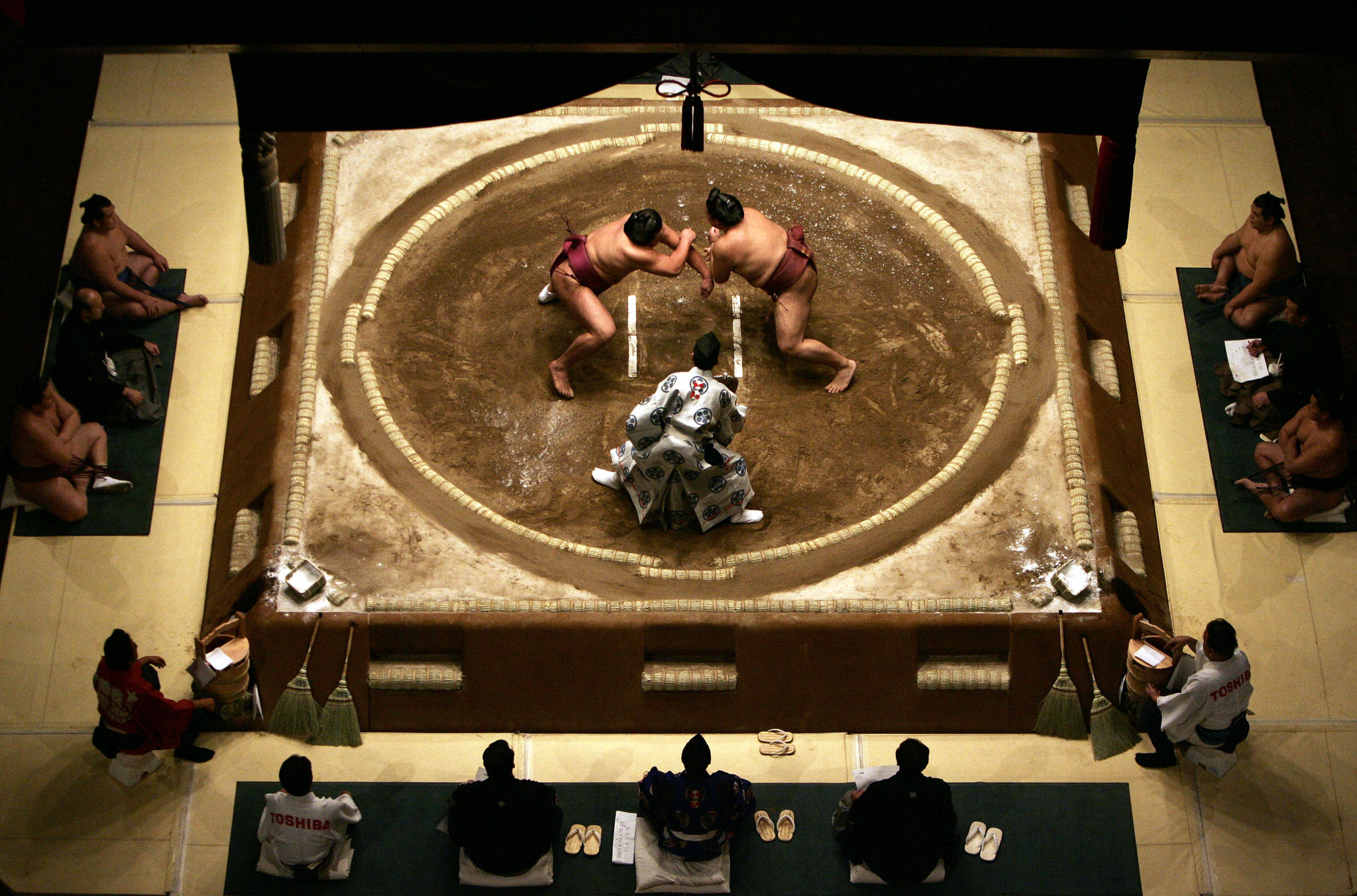 Japanese sumo star Masahiro Sakamoto has been ordered to retire after breaching coronavirus rules for a second time ©Getty Images