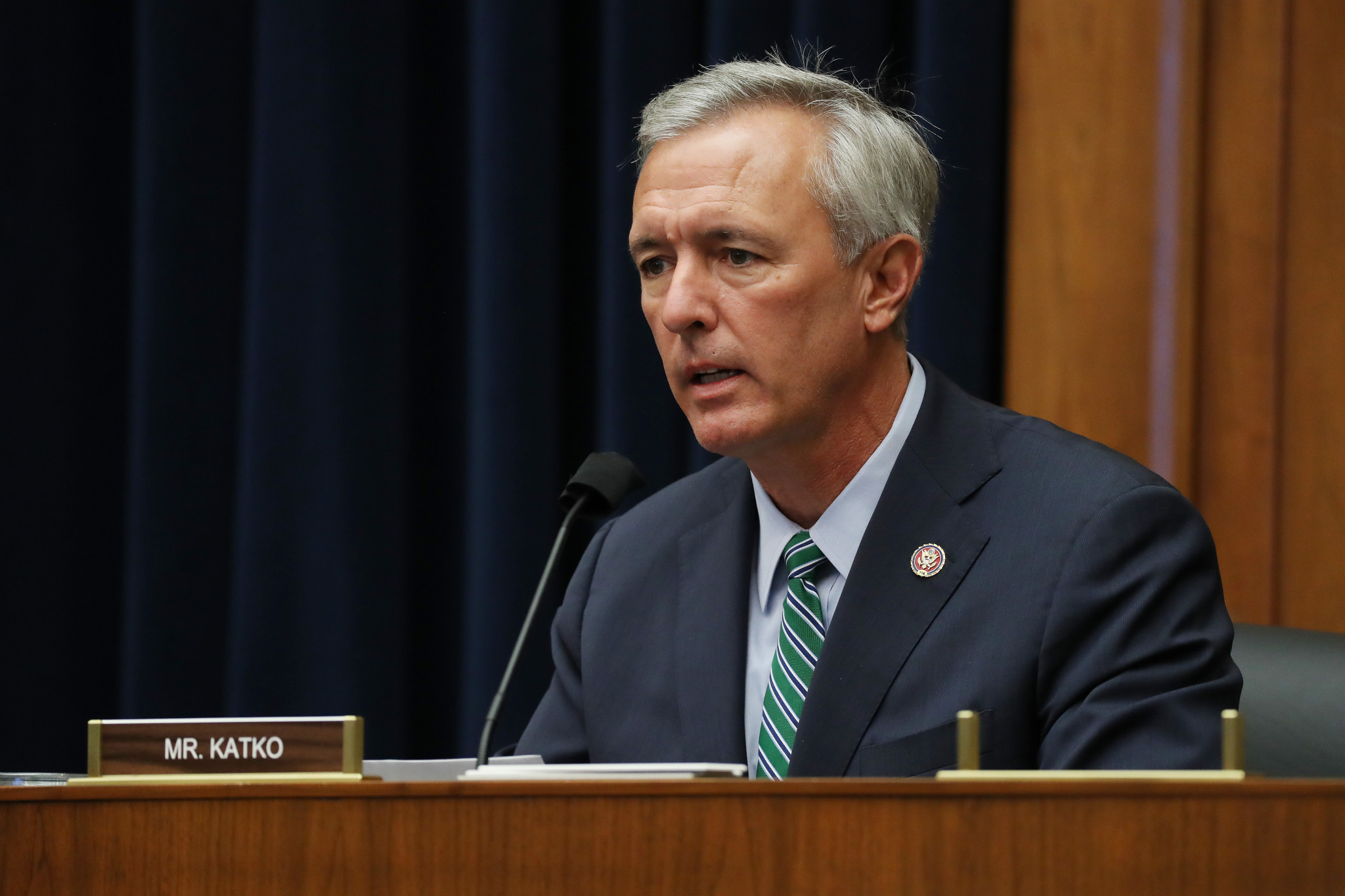 United States Representative John Katko has called for a boycott of Beijing 2022 ©Getty Images