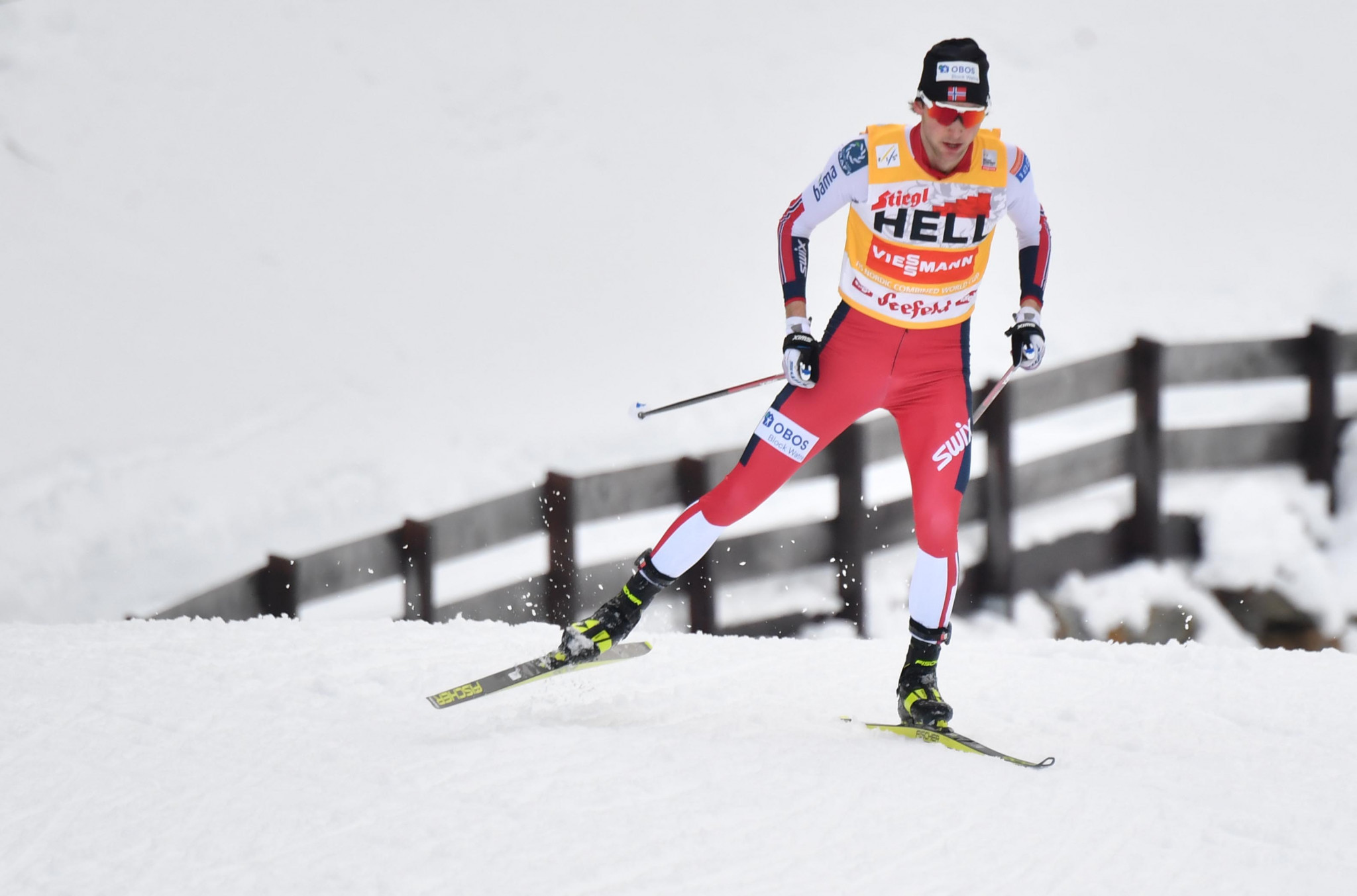 Norway's Jarl Magnus Riiber skipped World Cup competition to prepare for the World Championships ©Getty Images